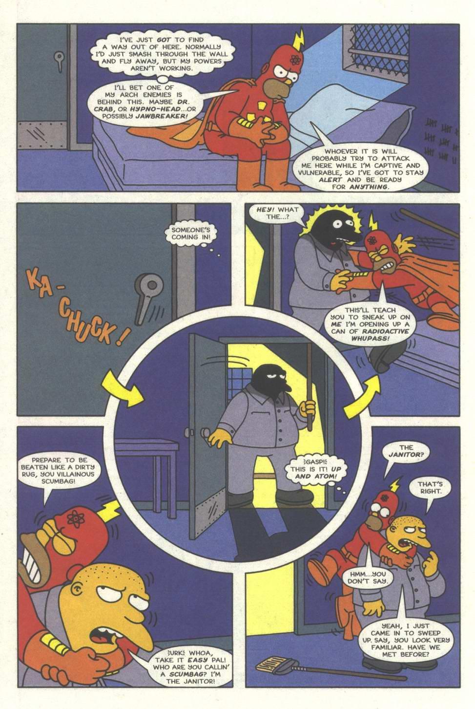 Read online Simpsons Comics comic -  Issue #31 - 15