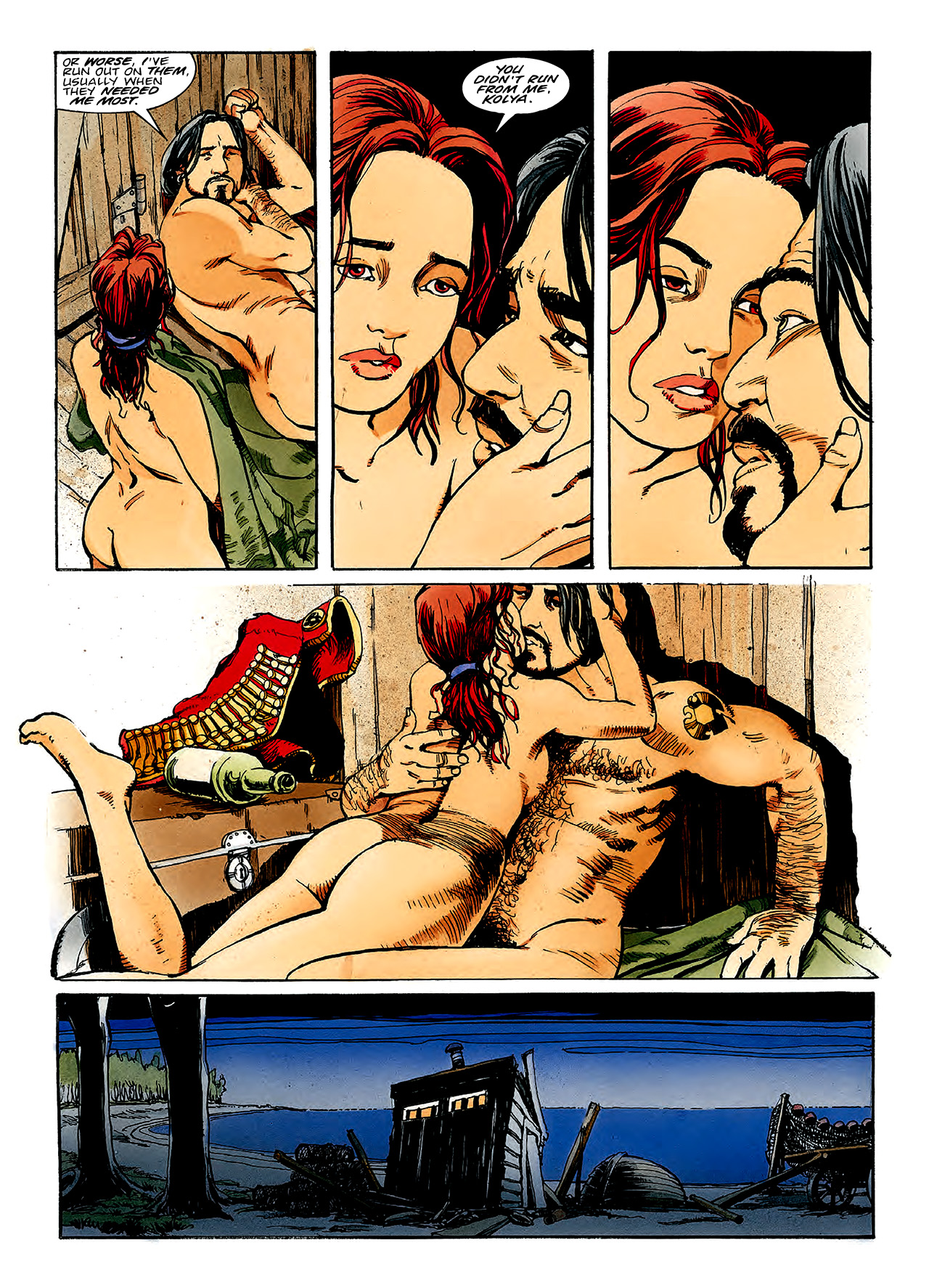 Read online Nikolai Dante comic -  Issue # TPB 3 - 129