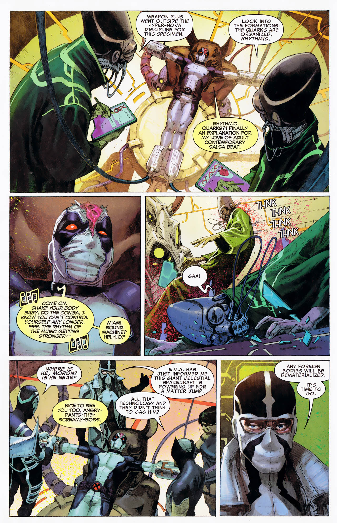 Read online Uncanny X-Force: The Apocalypse Solution comic -  Issue # Full - 23