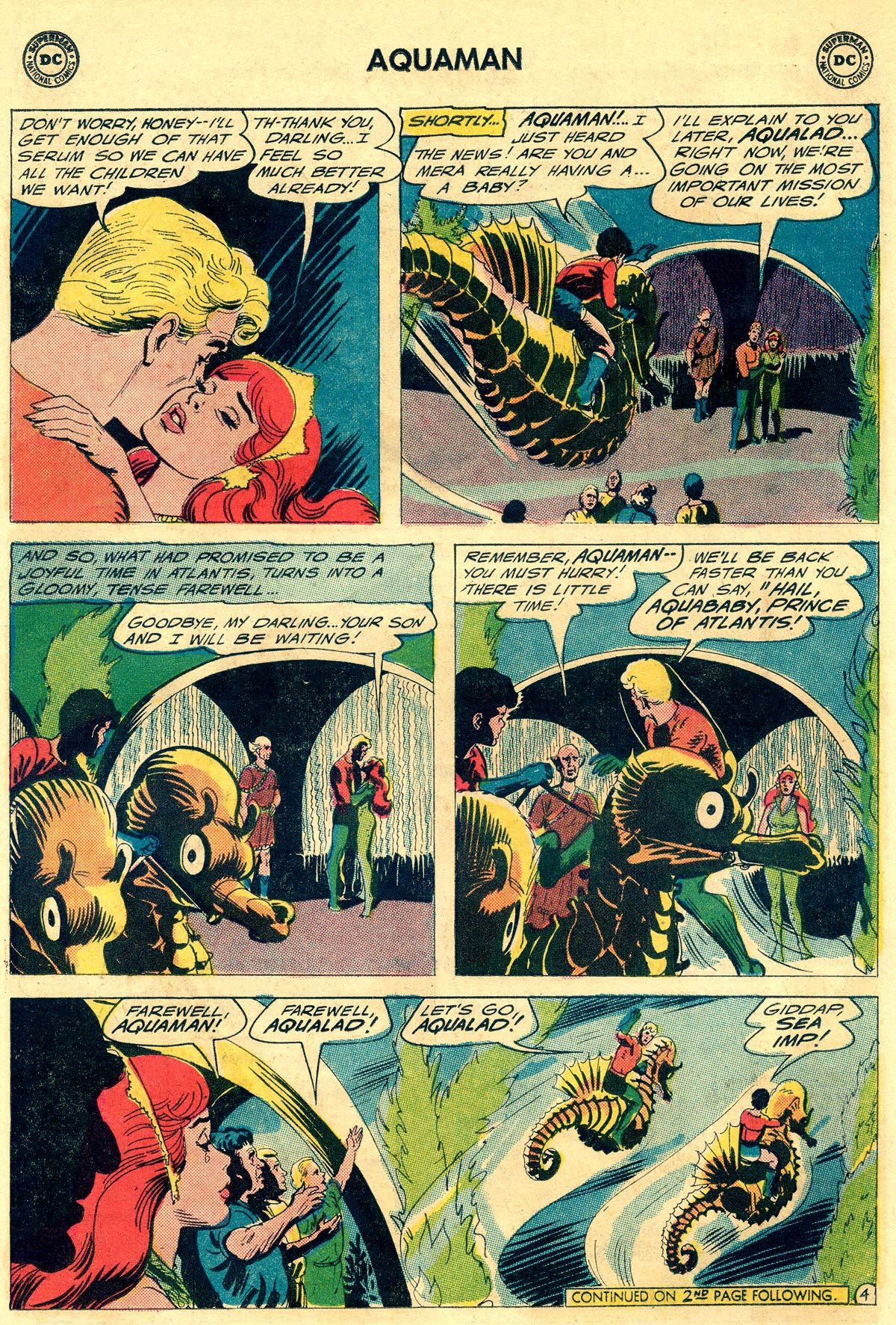 Read online Aquaman (1962) comic -  Issue #23 - 6