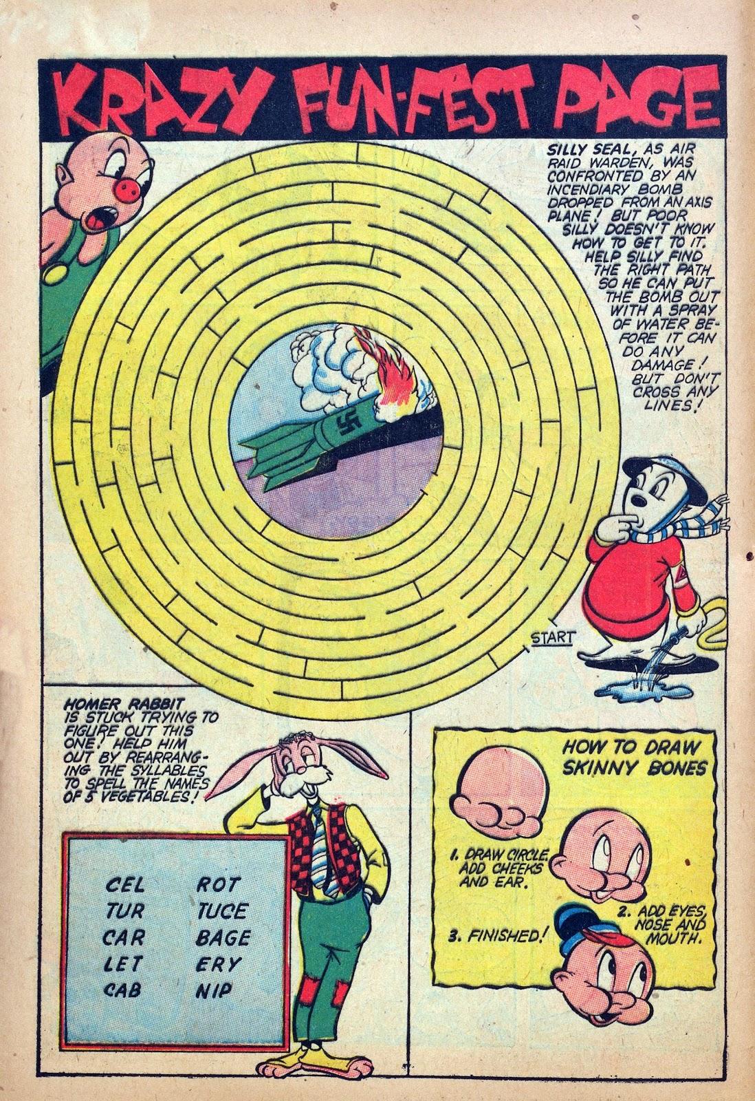 Krazy Komics issue 6 - Page 12