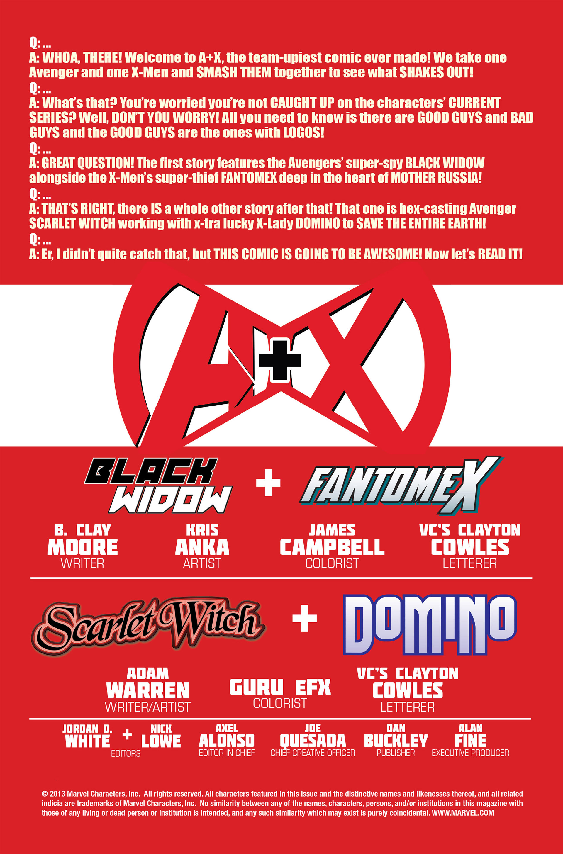 Read online A X comic -  Issue #10 - 2