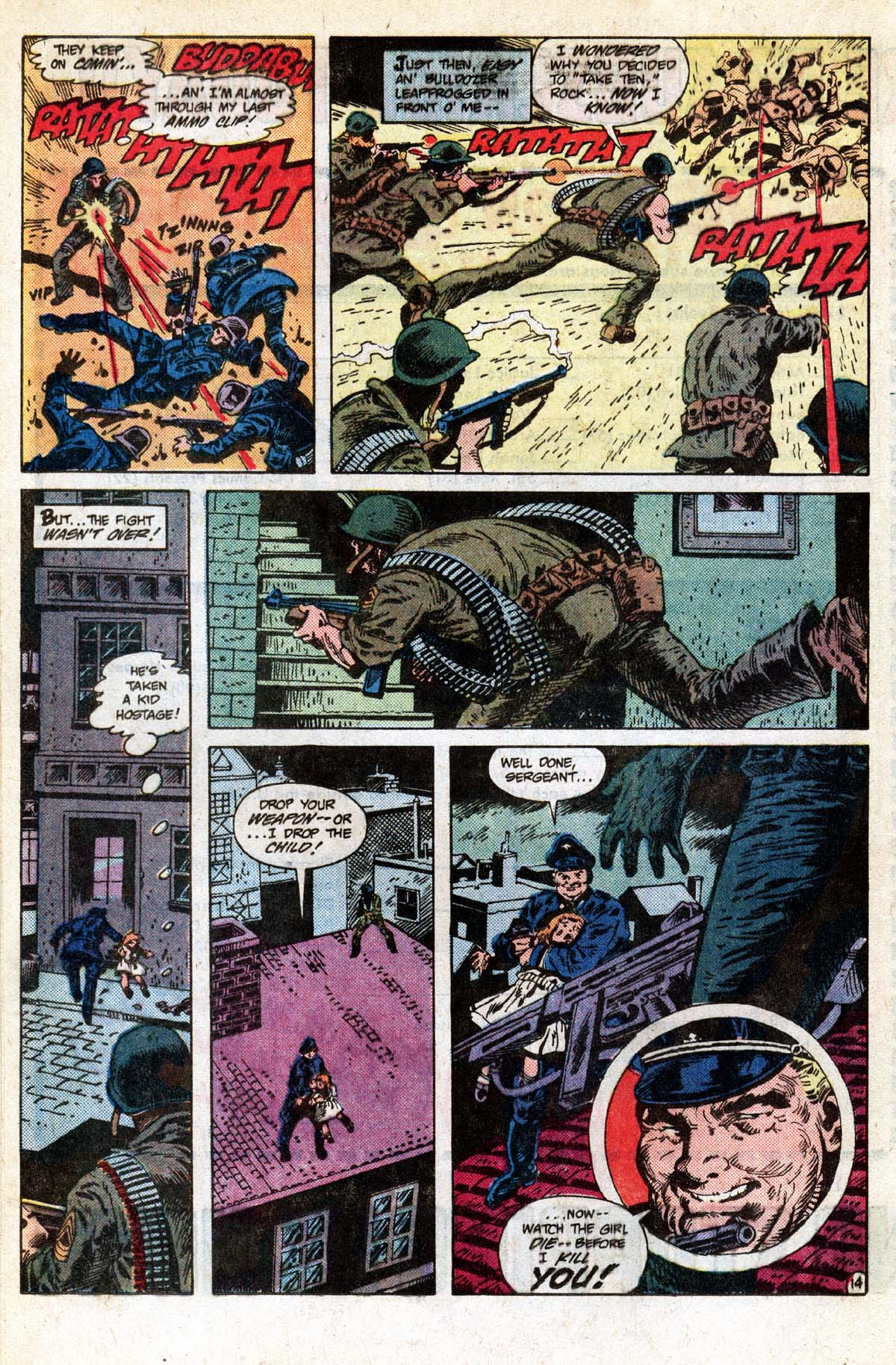 Read online Sgt. Rock comic -  Issue #391 - 15