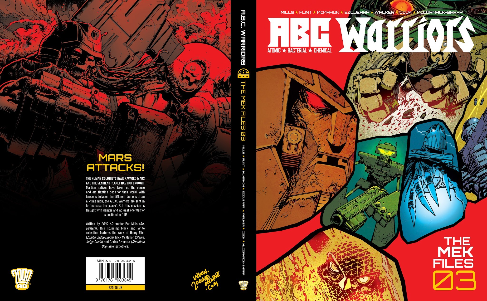 ABC Warriors: The Mek Files TPB_3 Page 1