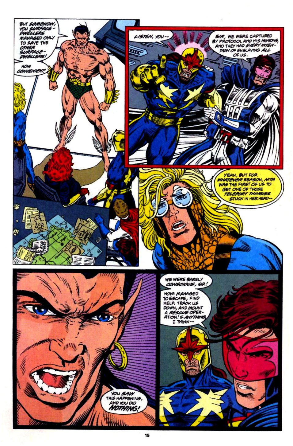 The New Warriors Issue #57 #61 - English 13