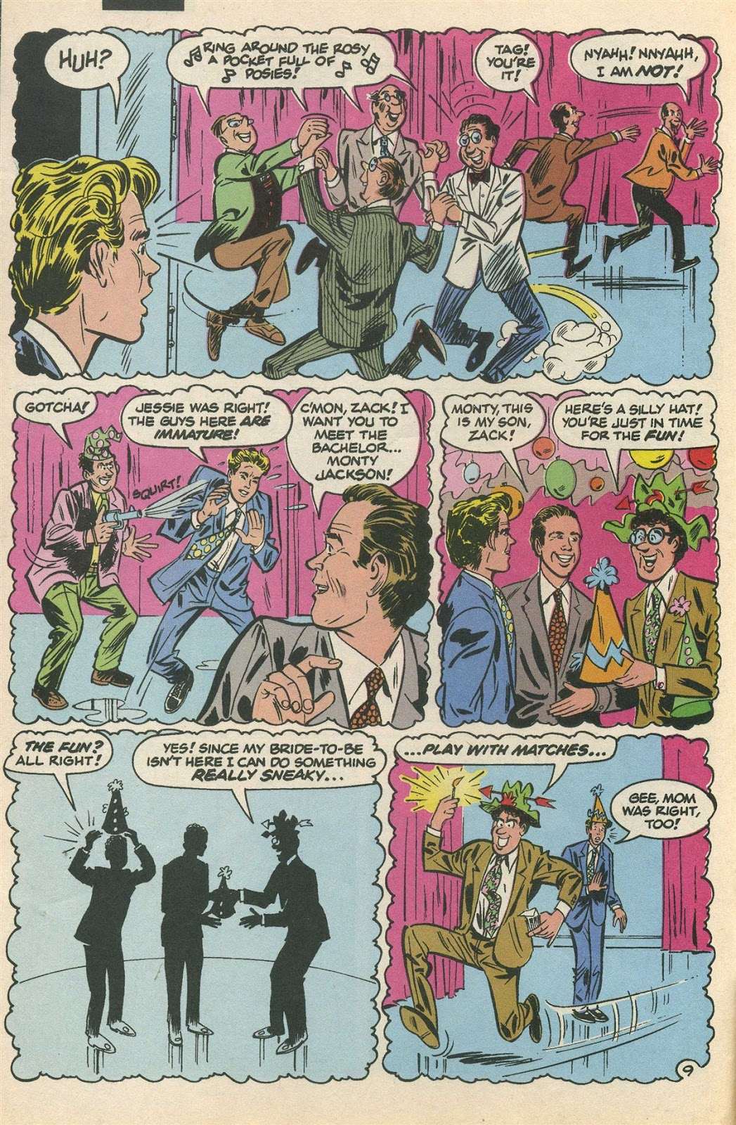 Read online Saved By The Bell comic -  Issue #3 - 14