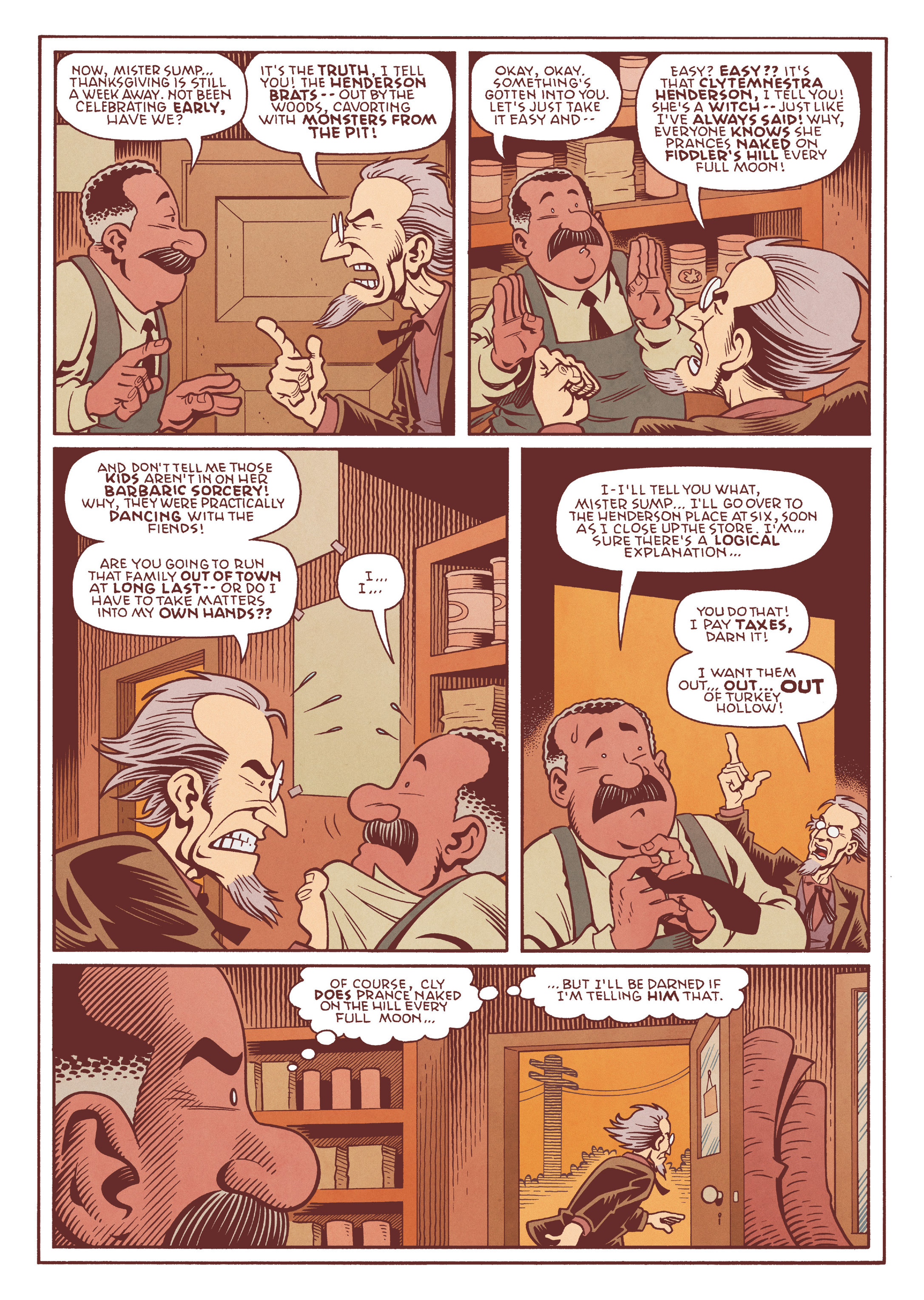 Read online Jim Henson's The Musical Monsters of Turkey Hollow comic -  Issue # Full - 49