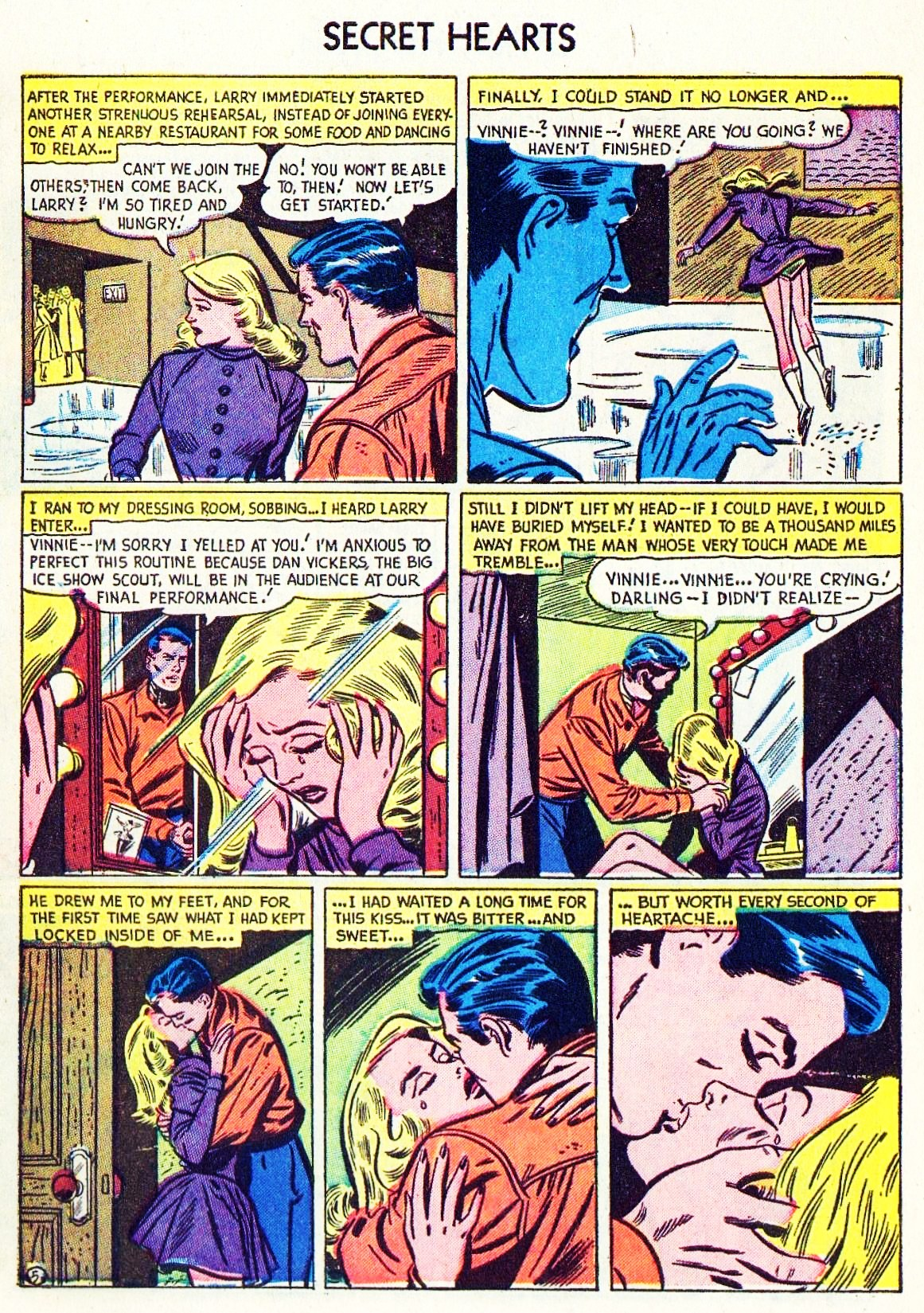 Read online Secret Hearts comic -  Issue #15 - 30