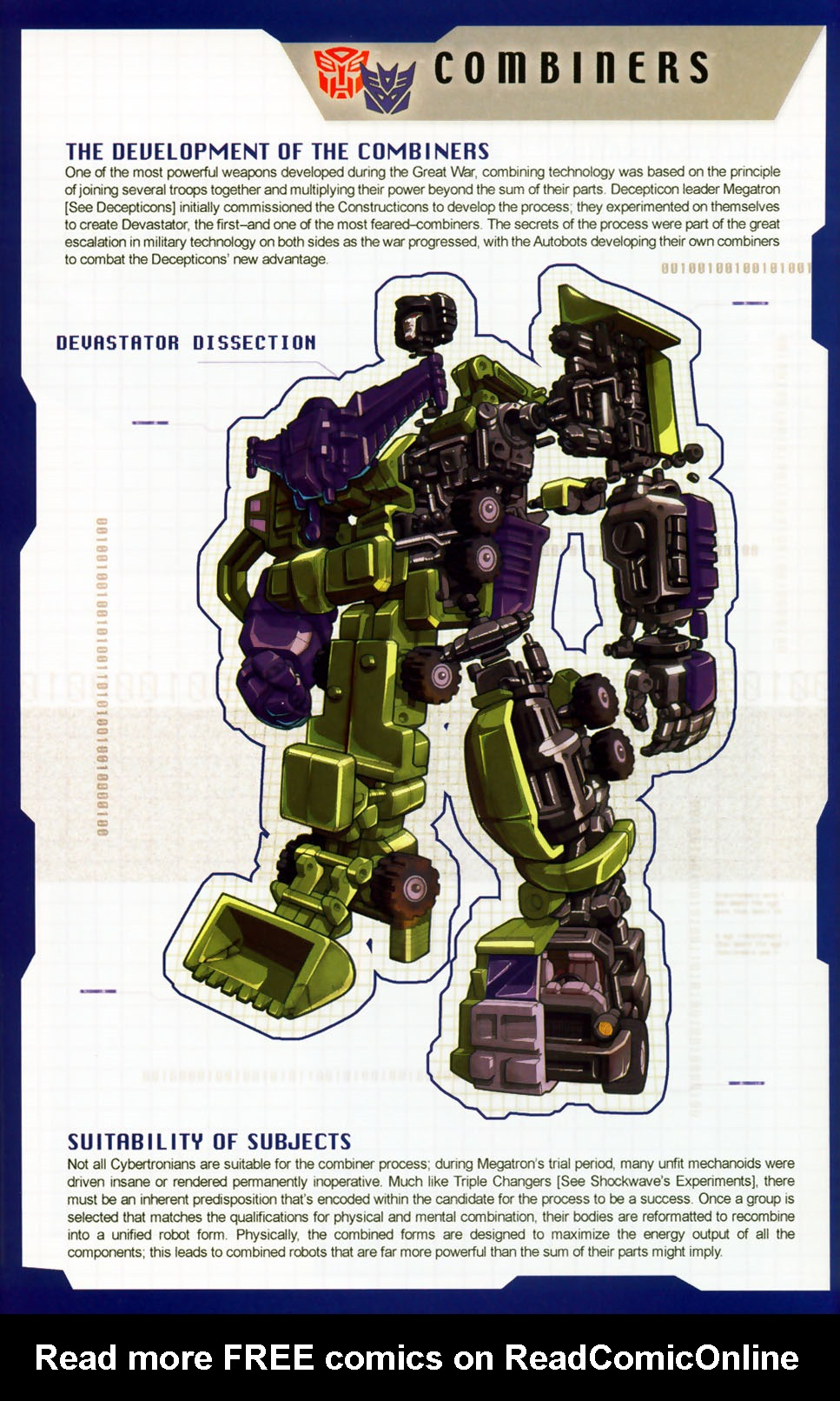 Read online Transformers: More than Meets the Eye comic -  Issue #8 - 8