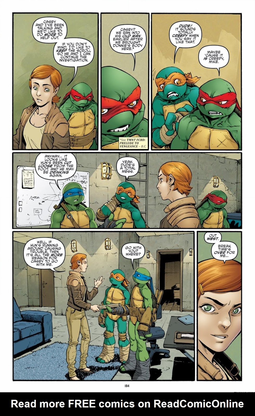 Read online Teenage Mutant Ninja Turtles: The IDW Collection comic -  Issue # TPB 6 (Part 2) - 82