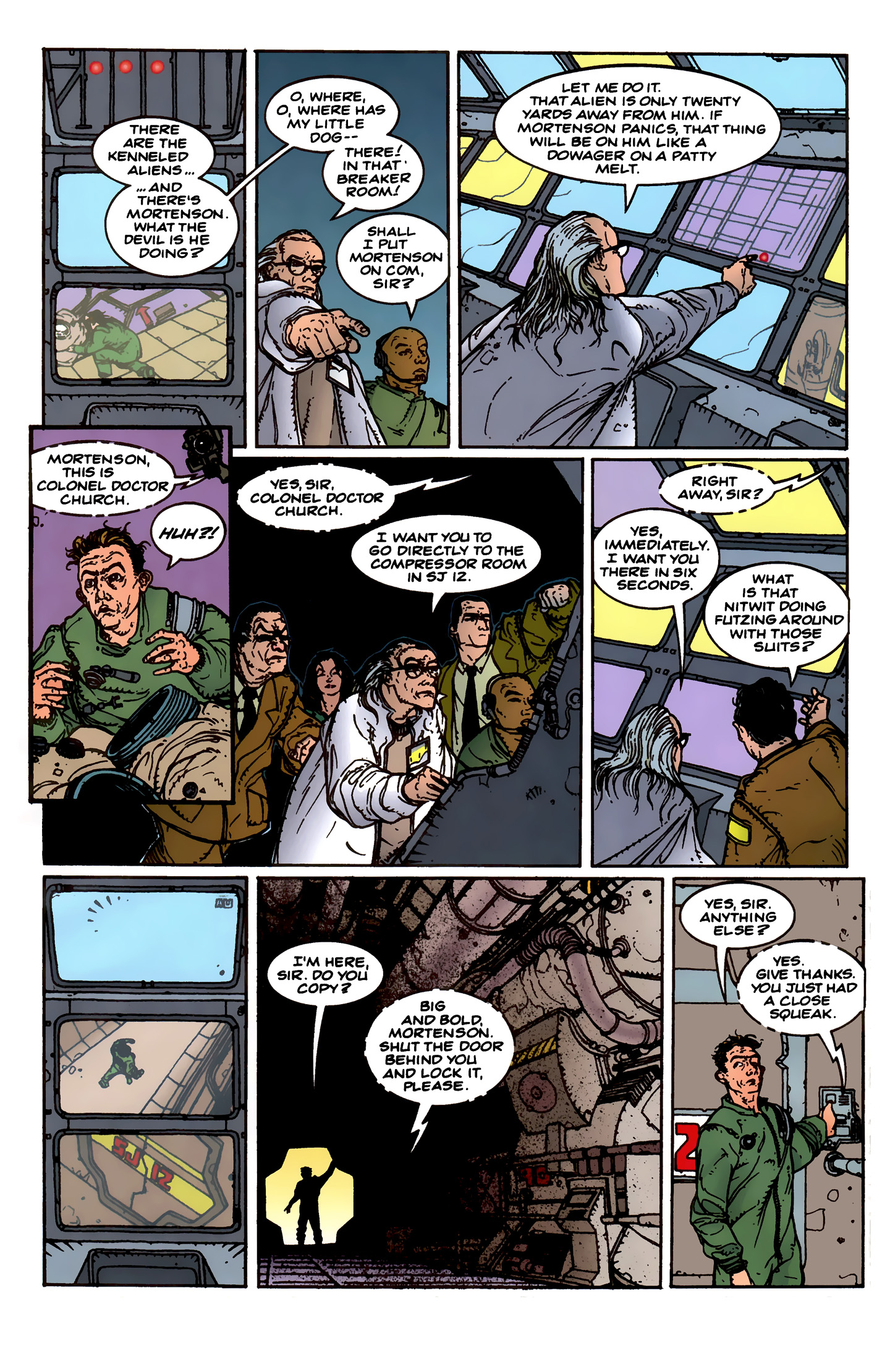 Read online Aliens: Labyrinth comic -  Issue #1 - 23