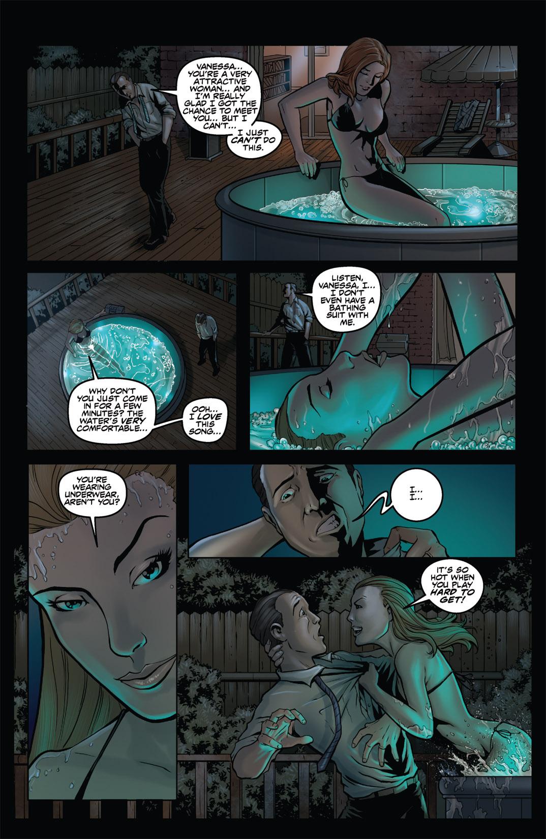 Read online Nightmare World comic -  Issue # Vol. 1 Thirteen Tales of Terror - 38