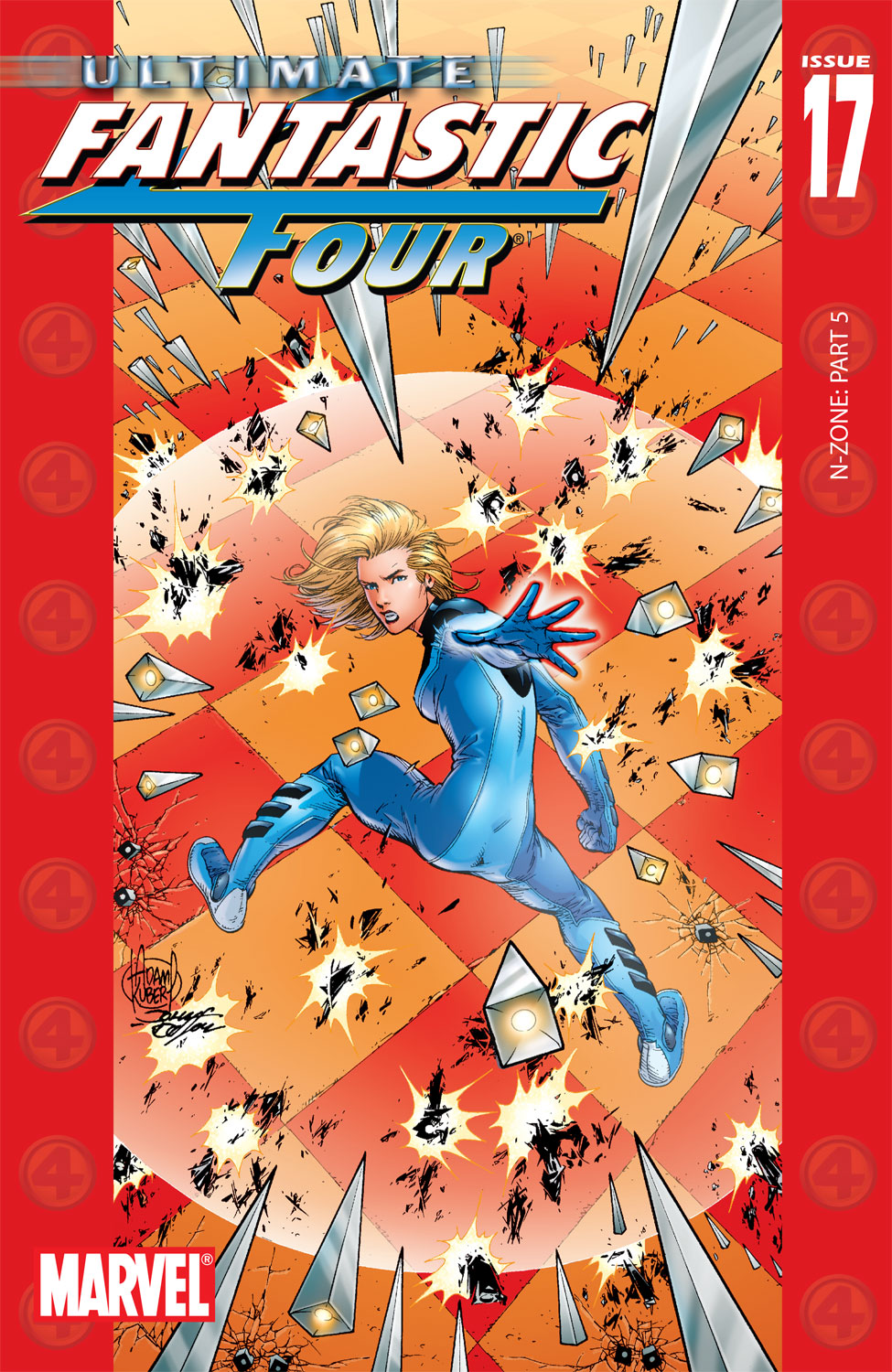 Read online Ultimate Fantastic Four (2004) comic -  Issue #17 - 1