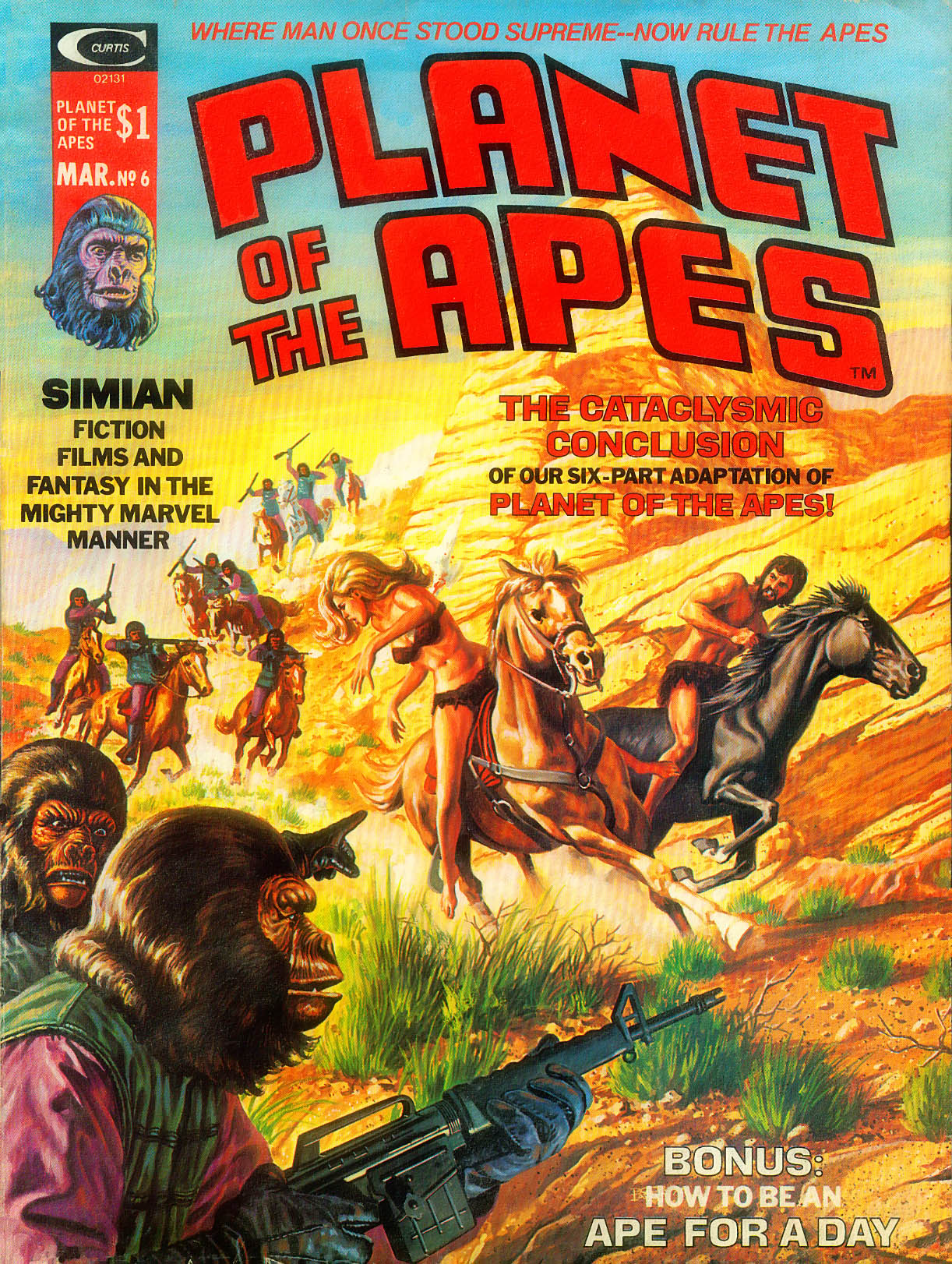 Planet of the Apes (1974) 6 Page 1
