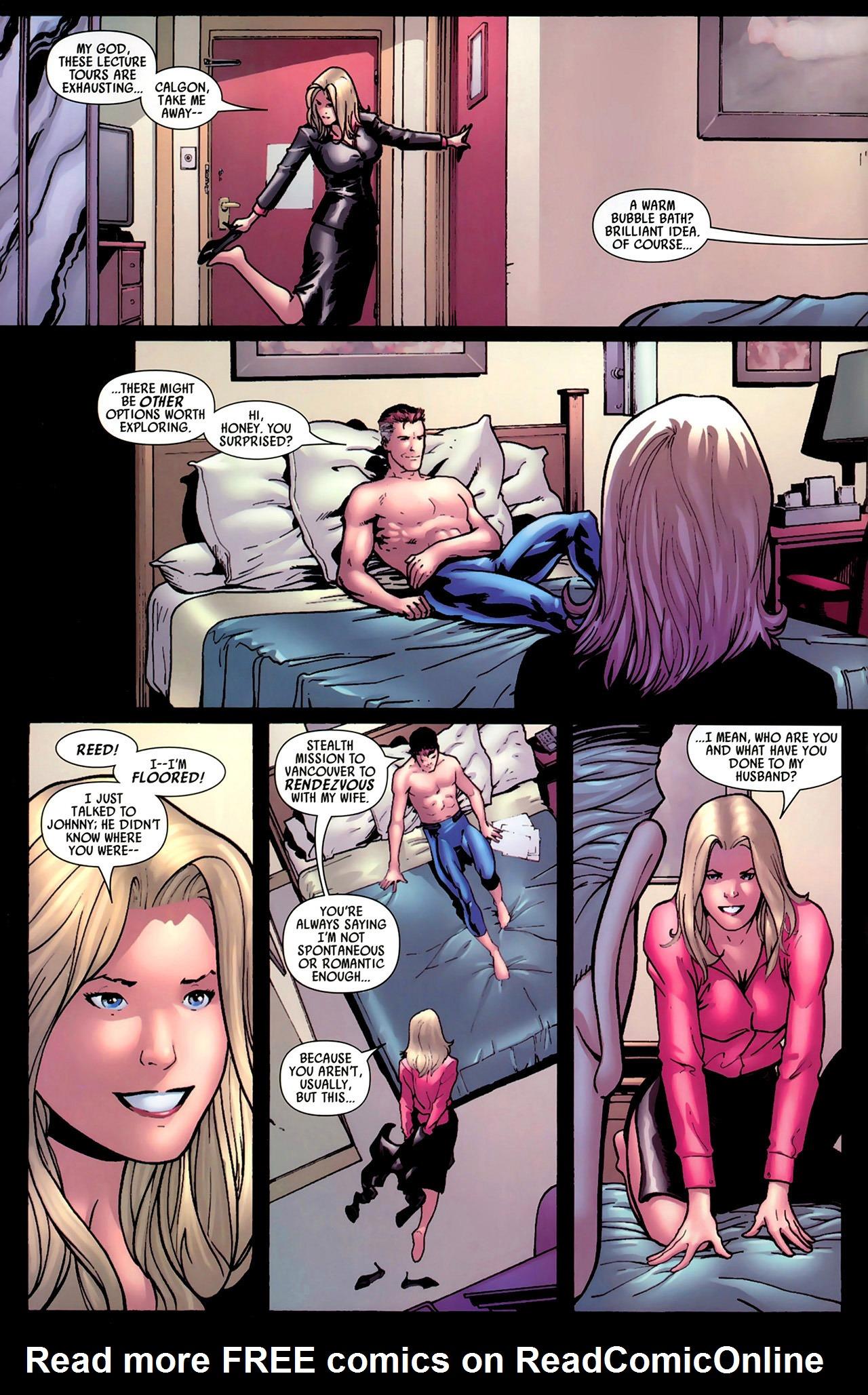 Read online Secret Invasion: Fantastic Four comic -  Issue #1 - 3