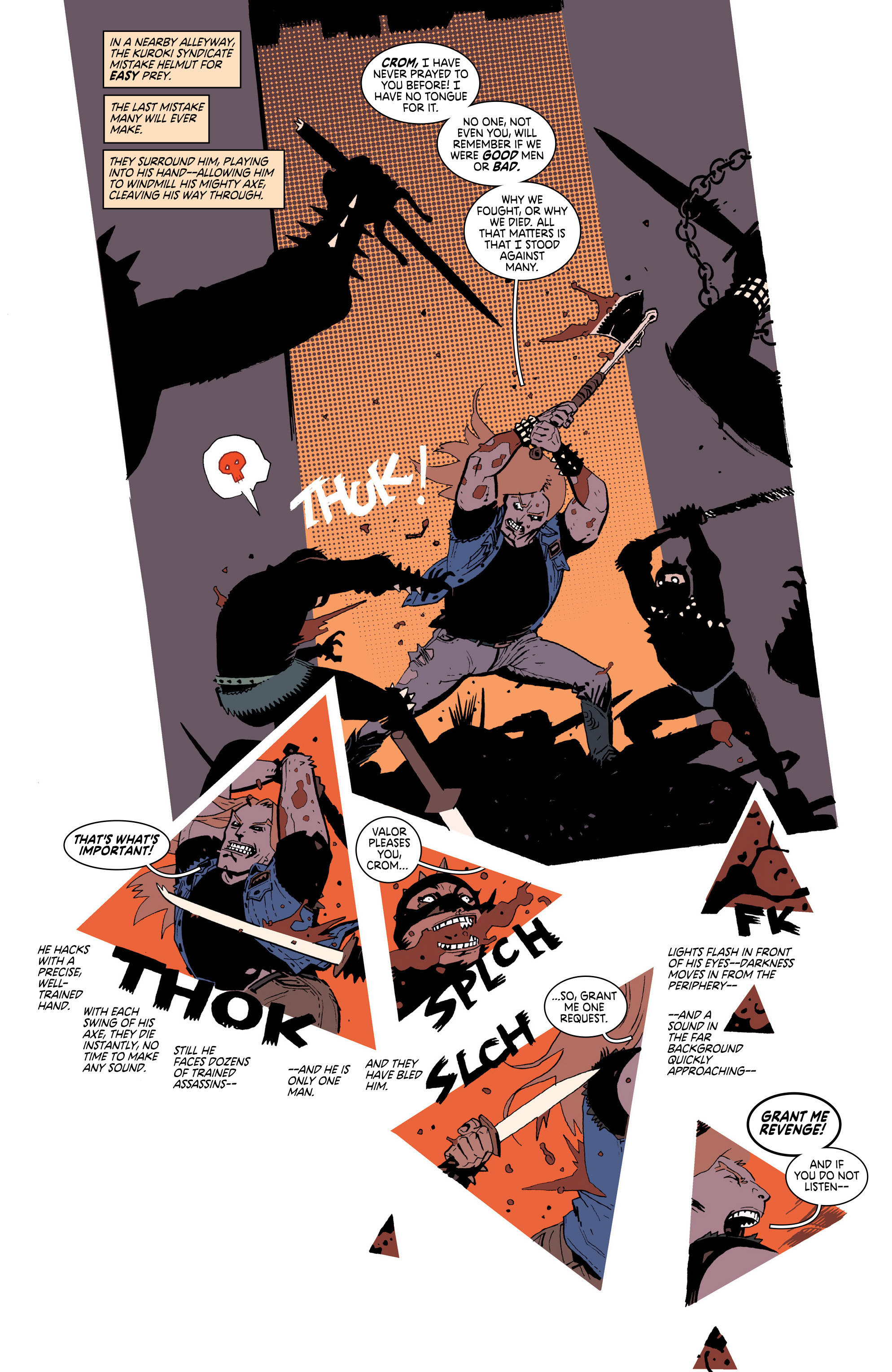 Read online Deadly Class comic -  Issue #25 - 10