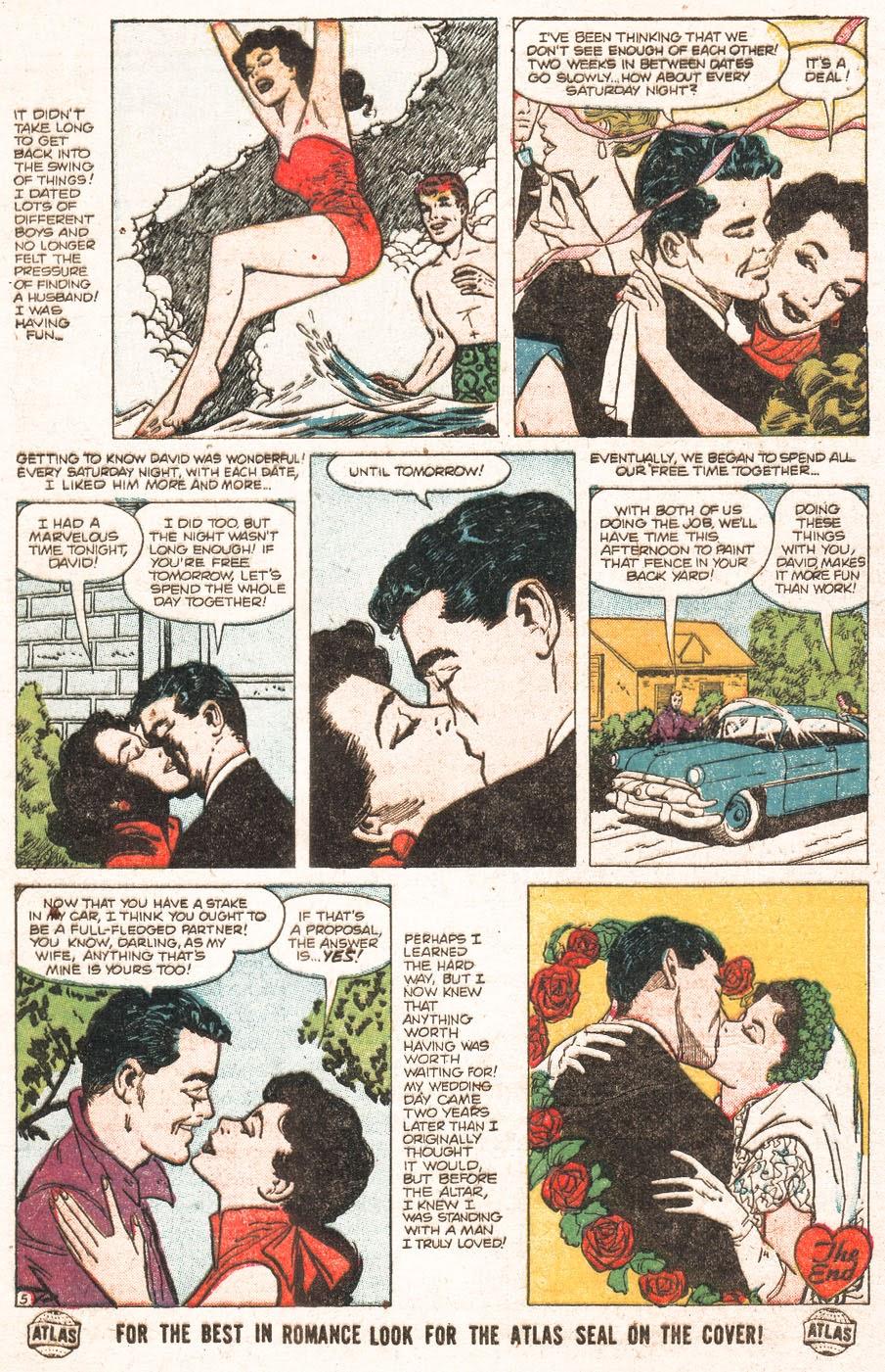 Love Romances (1949) issue 51 - Page 7