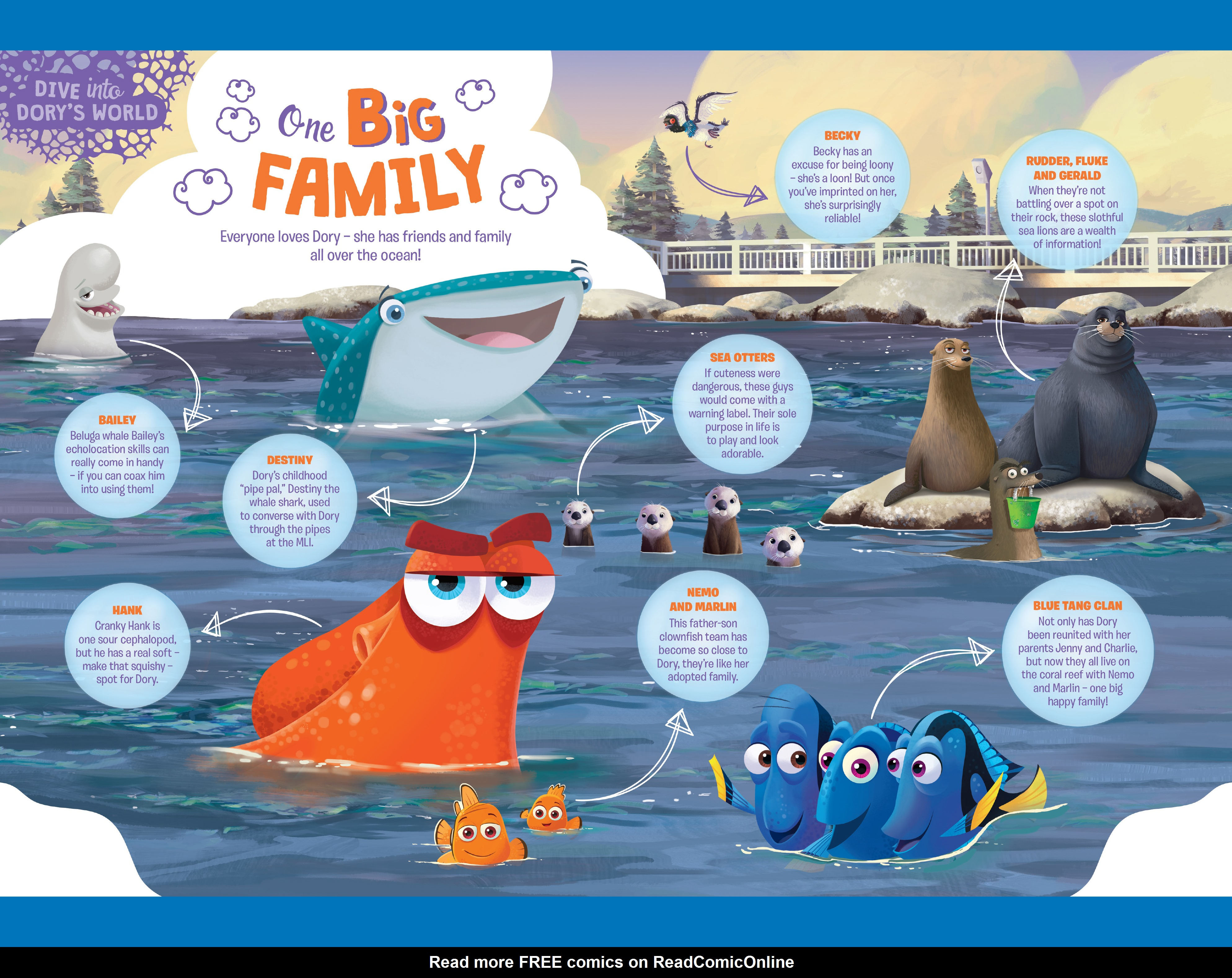 Read online Disney Pixar Finding Dory comic -  Issue #2 - 26
