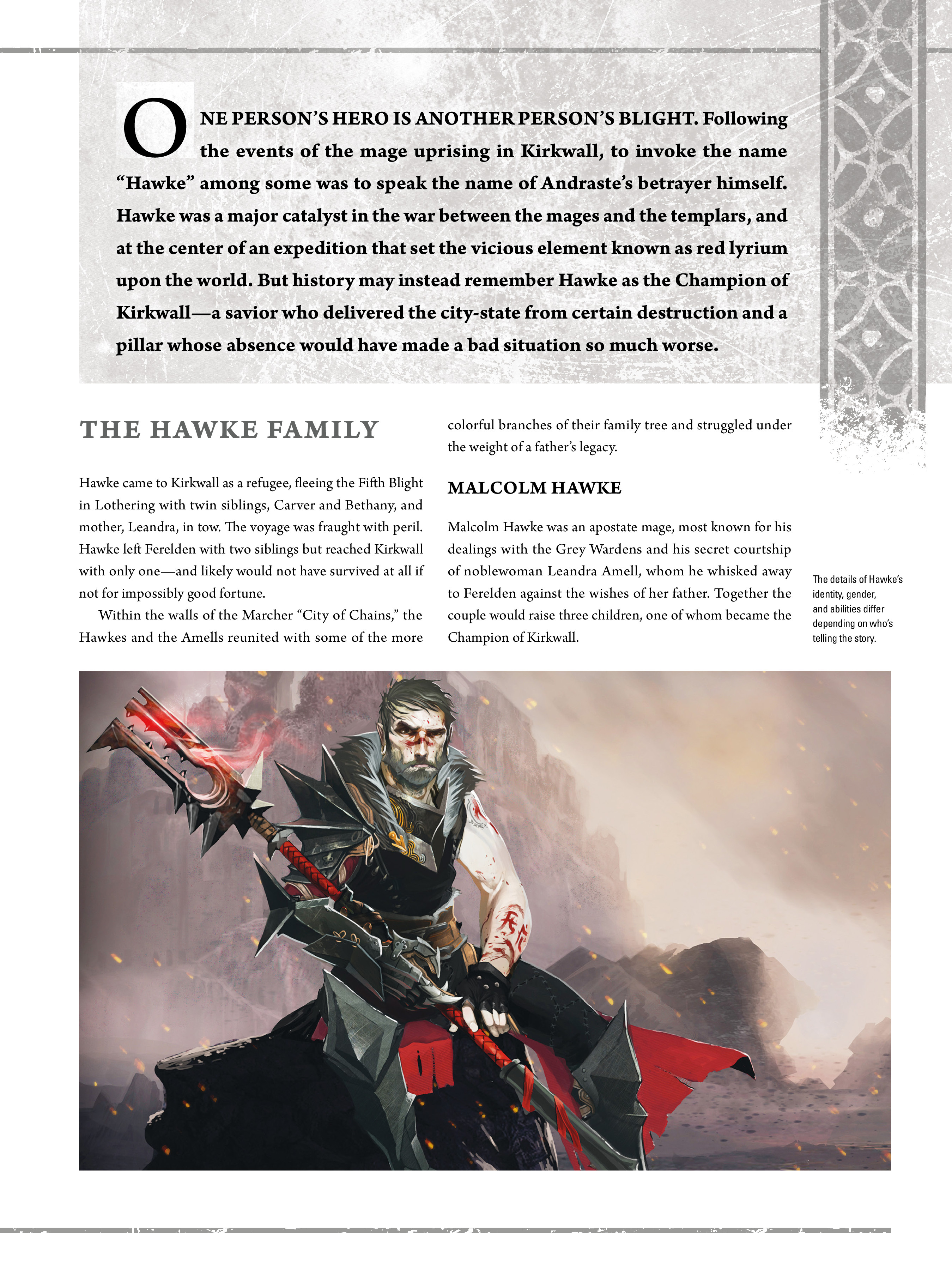 Read online Dragon Age: The World of Thedas comic -  Issue # TPB 2 - 143