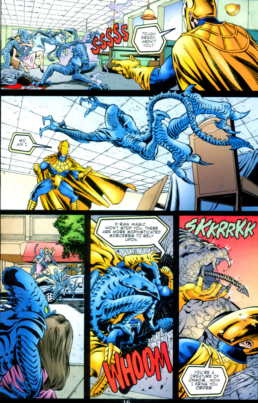 Read online Doctor Fate (2003) comic -  Issue #2 - 16