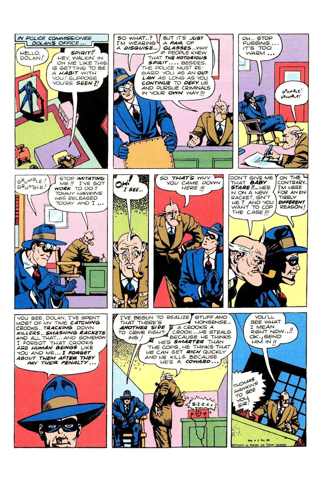 Read online Will Eisner's The Spirit Archives comic -  Issue # TPB 2 (Part 2) - 62