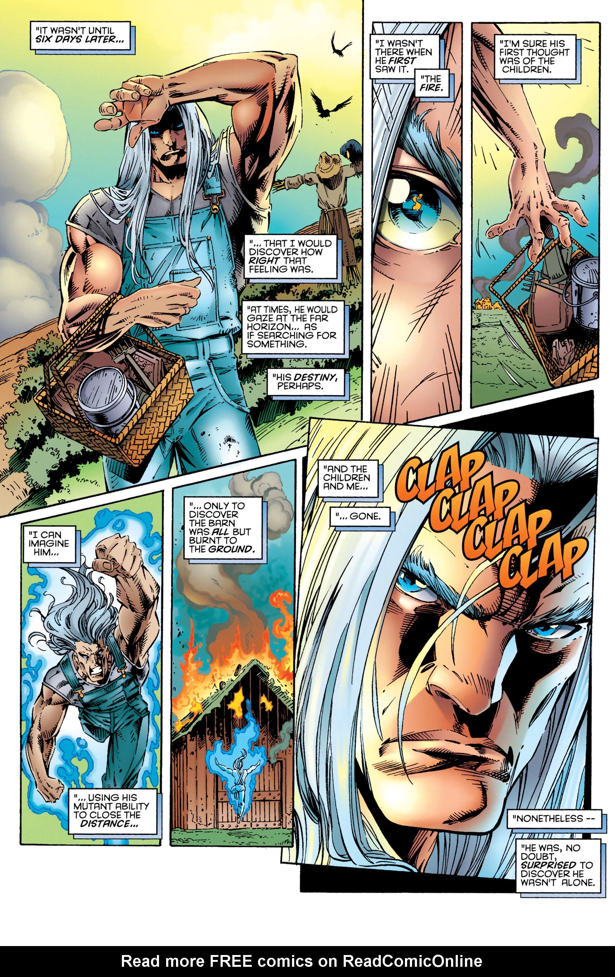 Read online Uncanny X-Men (1963) comic -  Issue #327 - 17