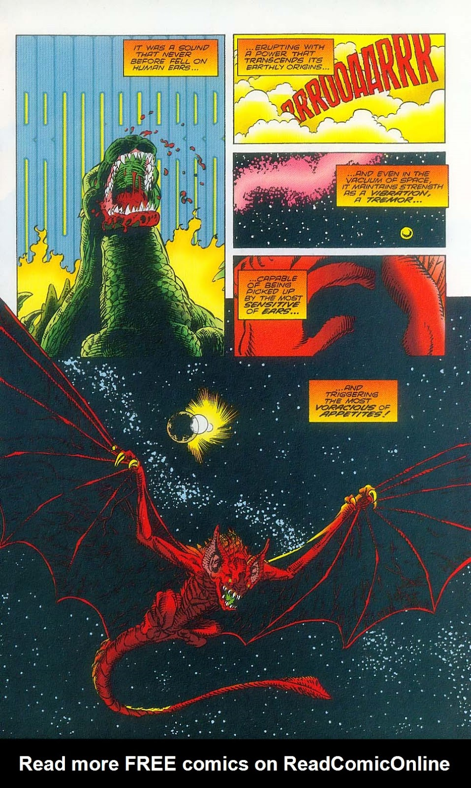 Godzilla (1995) Issue #3 #4 - English 4