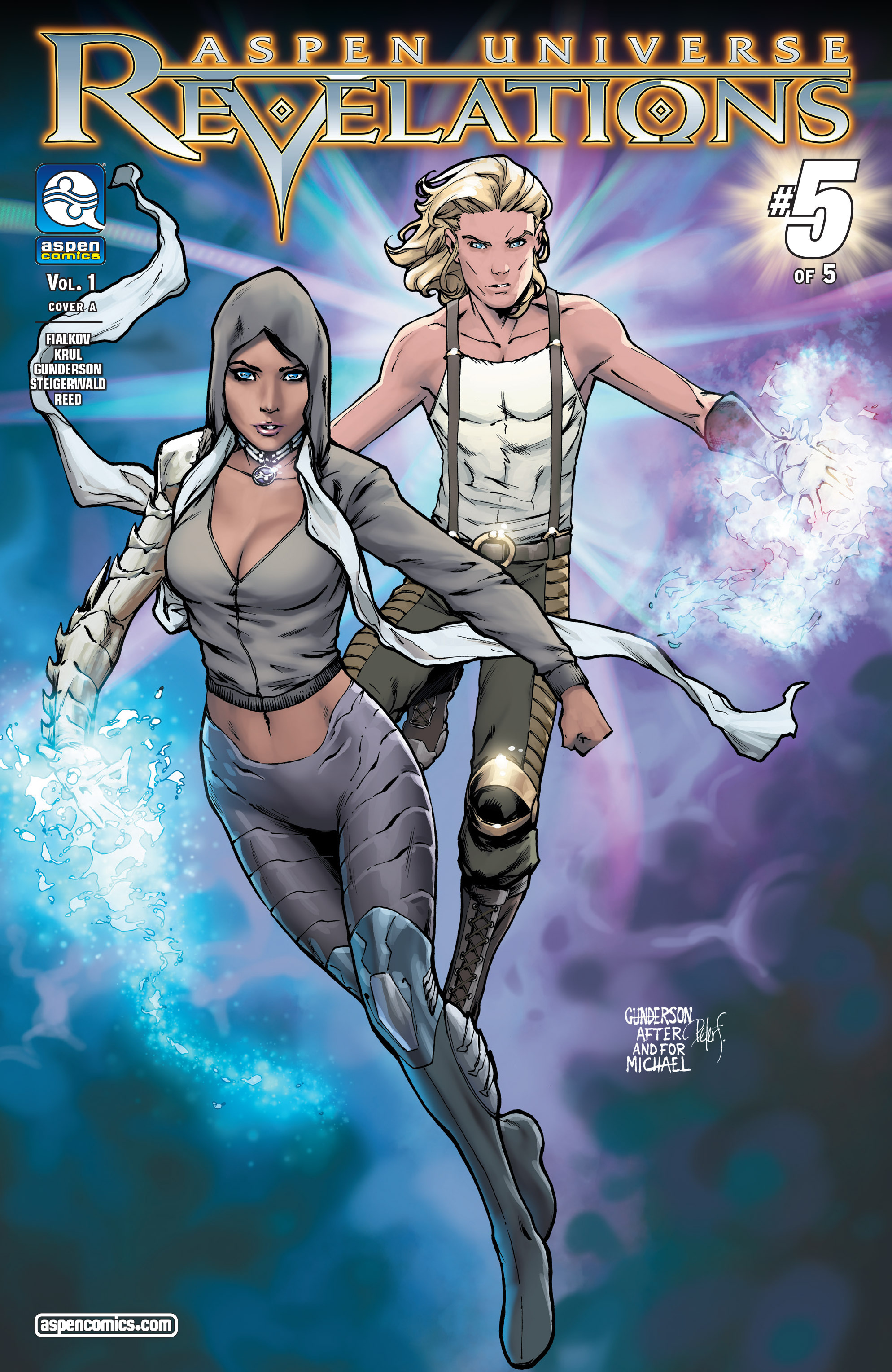 Read online Aspen Universe: Revelations comic -  Issue #5 - 1