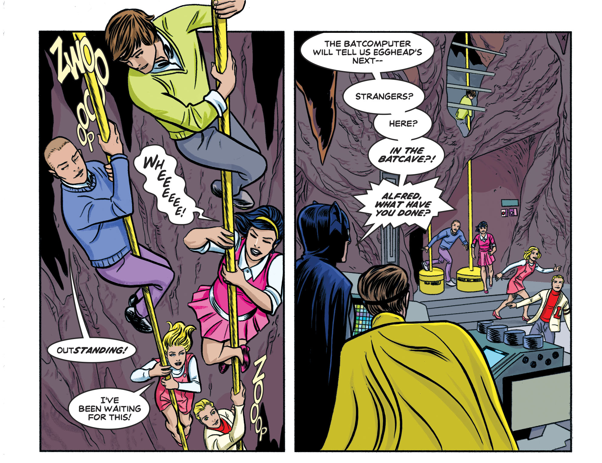 Read online Batman '66 Meets the Legion of Super-Heroes comic -  Issue #1 - 6