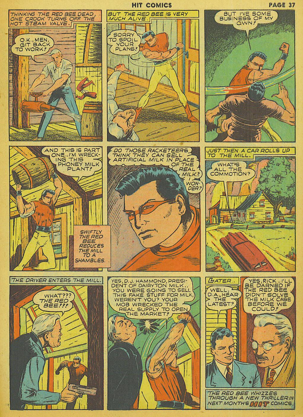 Read online Hit Comics comic -  Issue #13 - 39