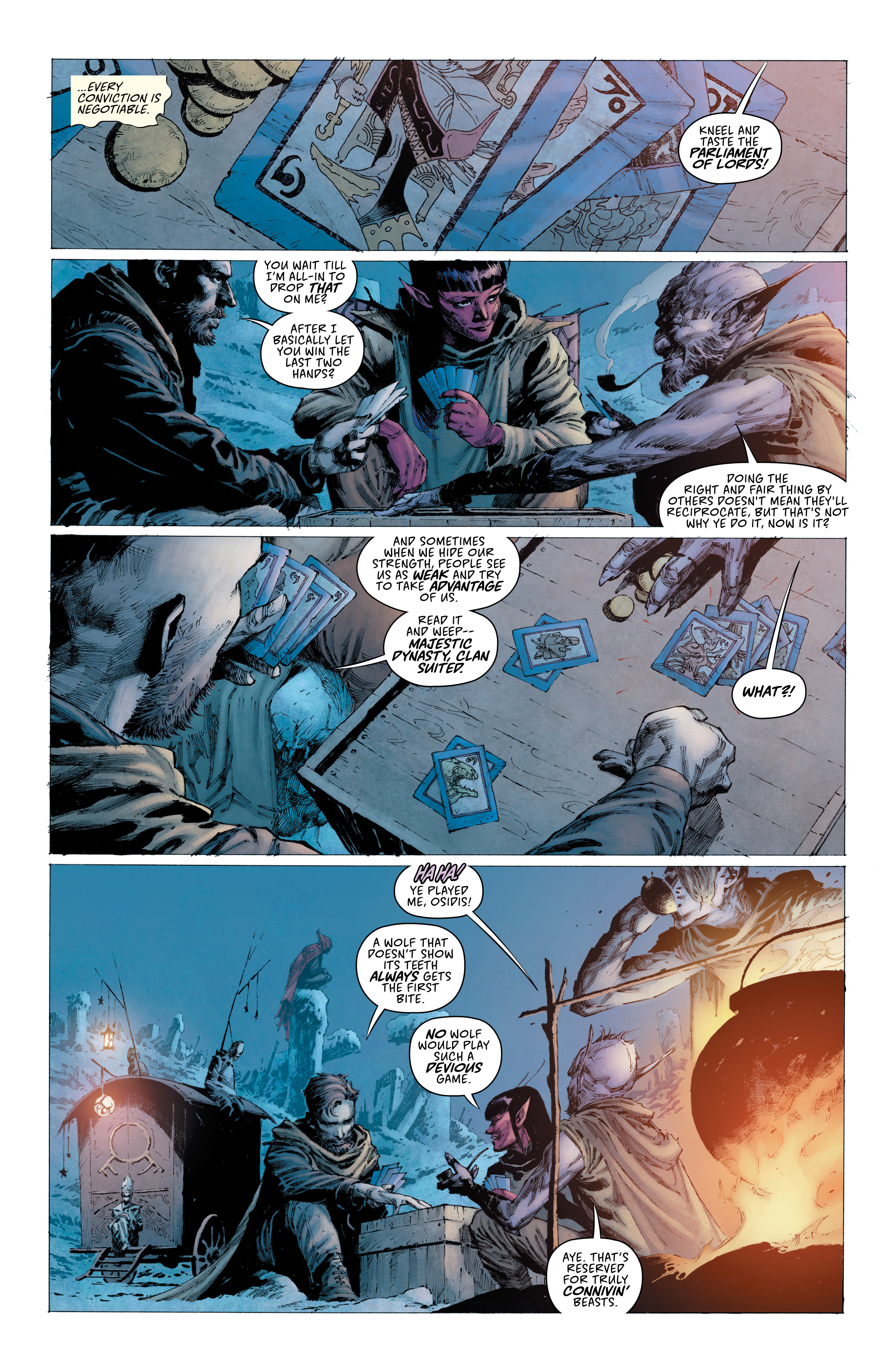 Read online Seven To Eternity comic -  Issue #4 - 4