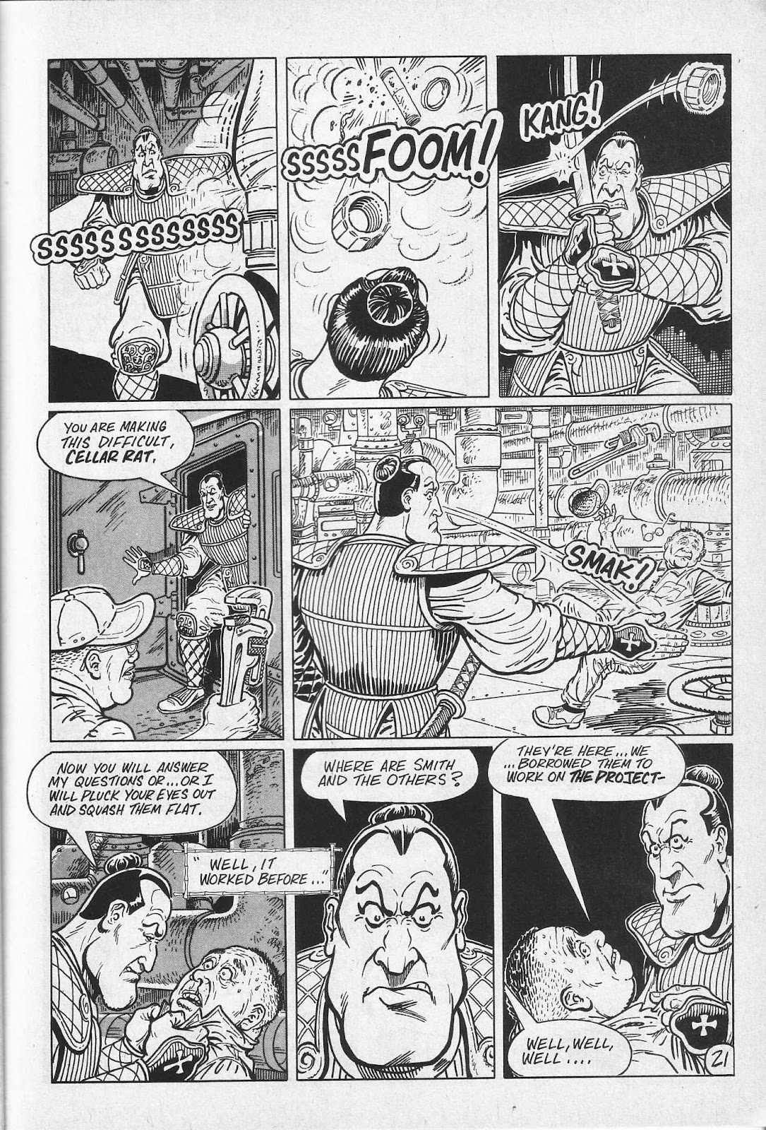 Read online Paul the Samurai (1991) comic -  Issue # TPB - 27