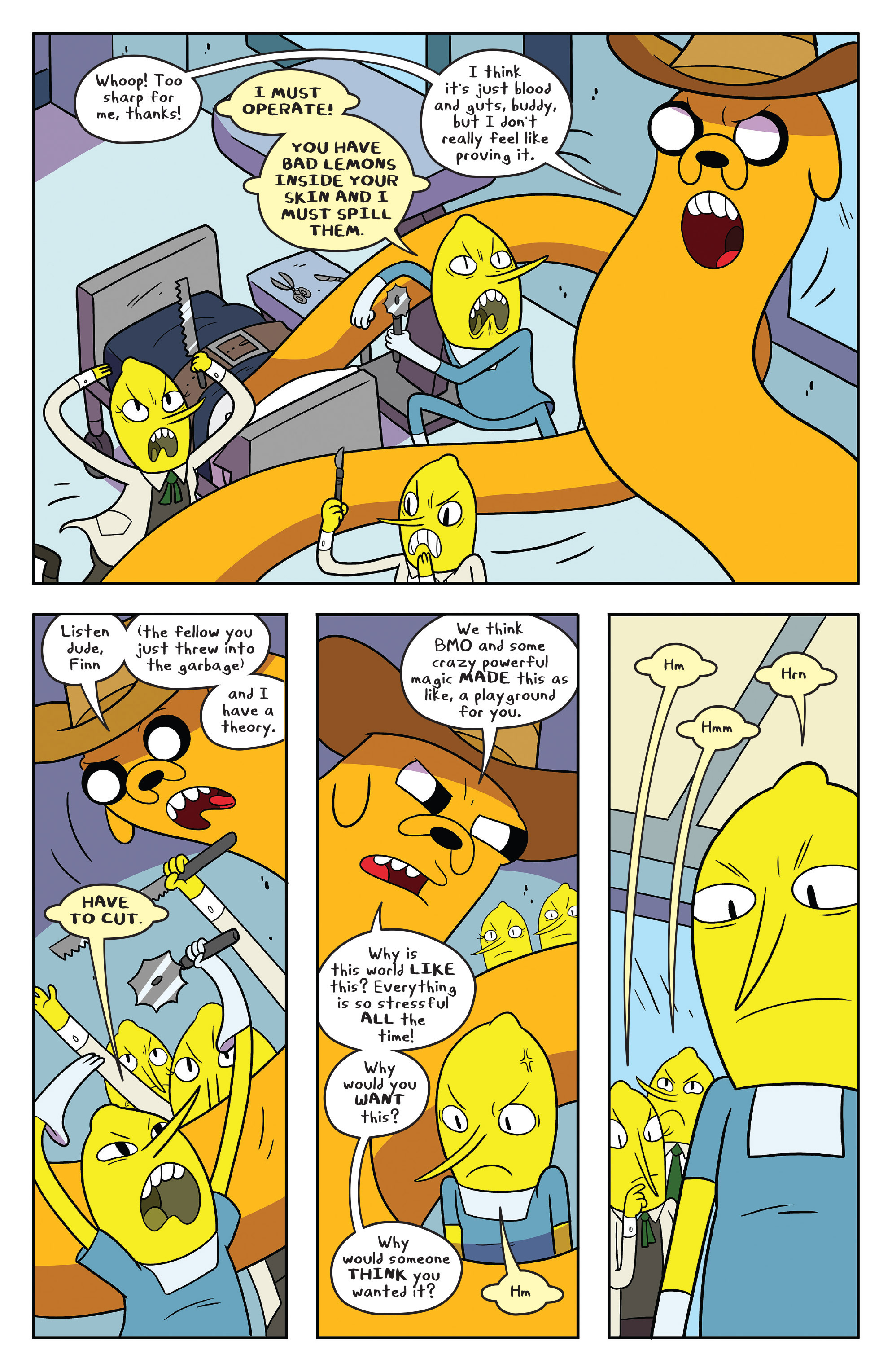 Read online Adventure Time comic -  Issue #55 - 14