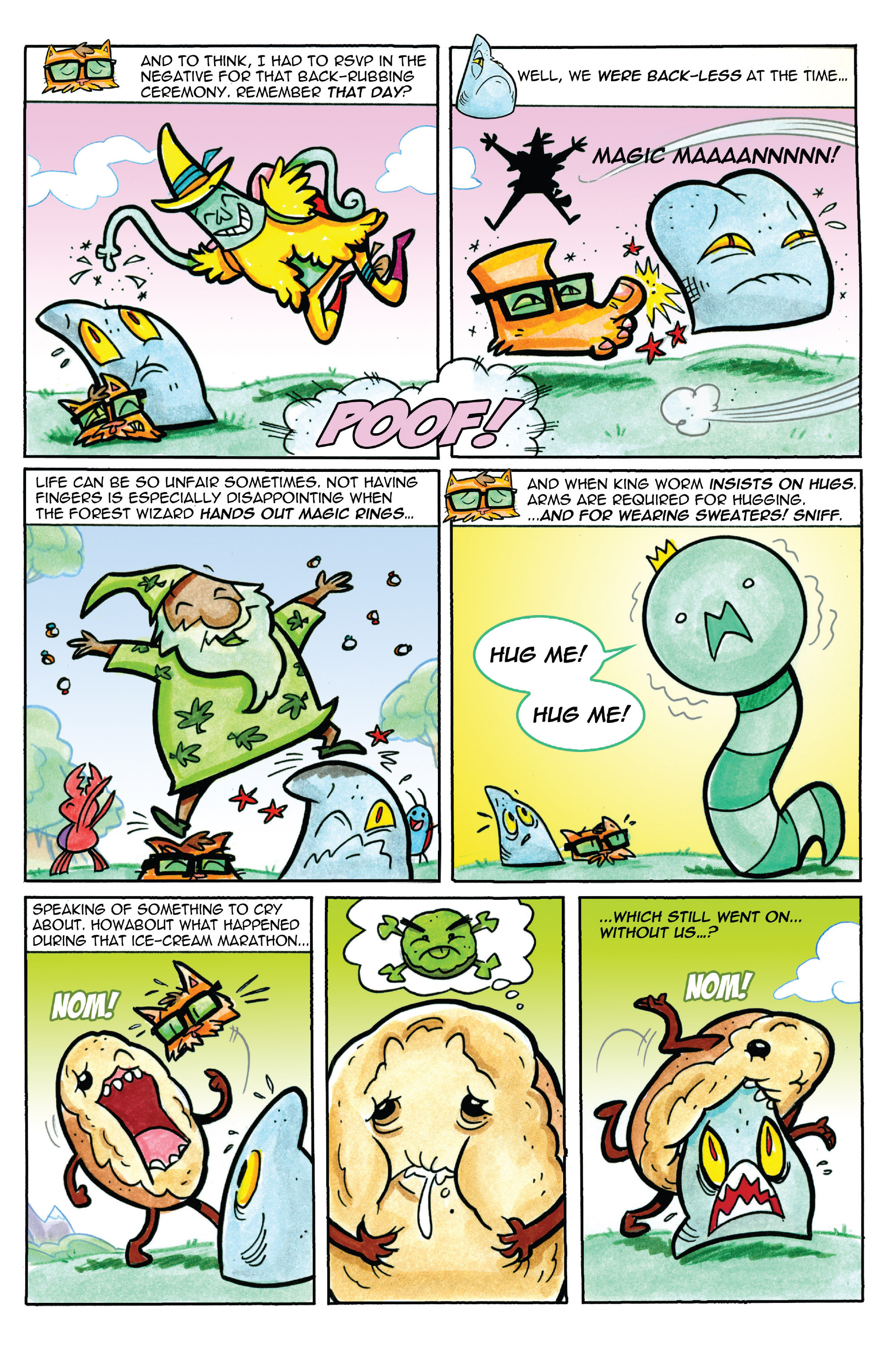 Read online Adventure Time comic -  Issue #37 - 21
