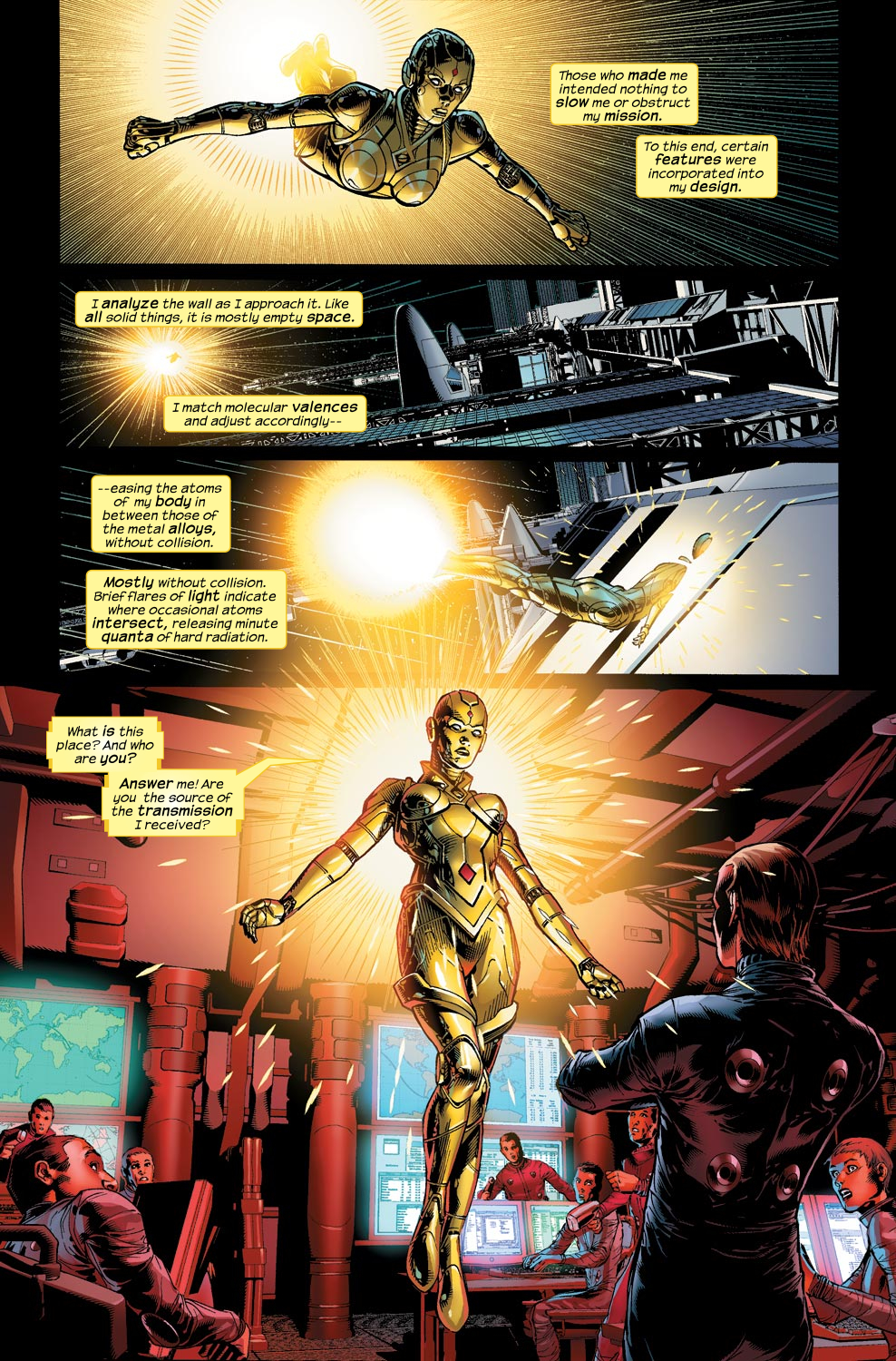 Read online Ultimate Vision comic -  Issue #1 - 10