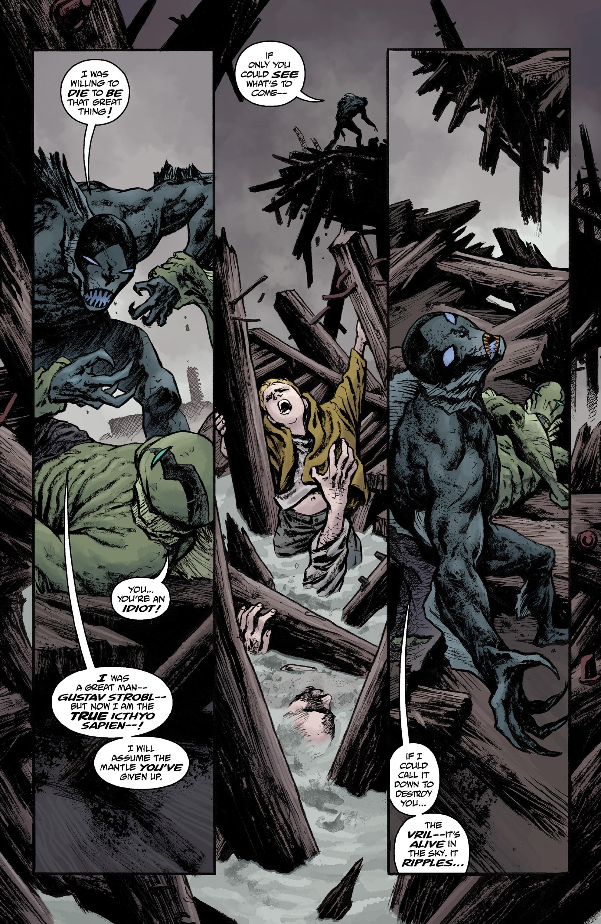 Read online Abe Sapien comic -  Issue #36 - 12