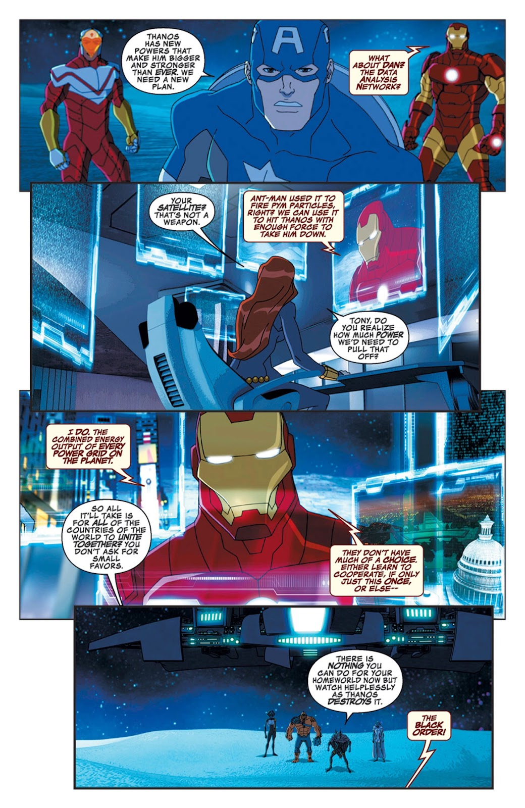 Read online Marvel Universe Avengers Assemble Season 2 comic -  Issue #16 - 9