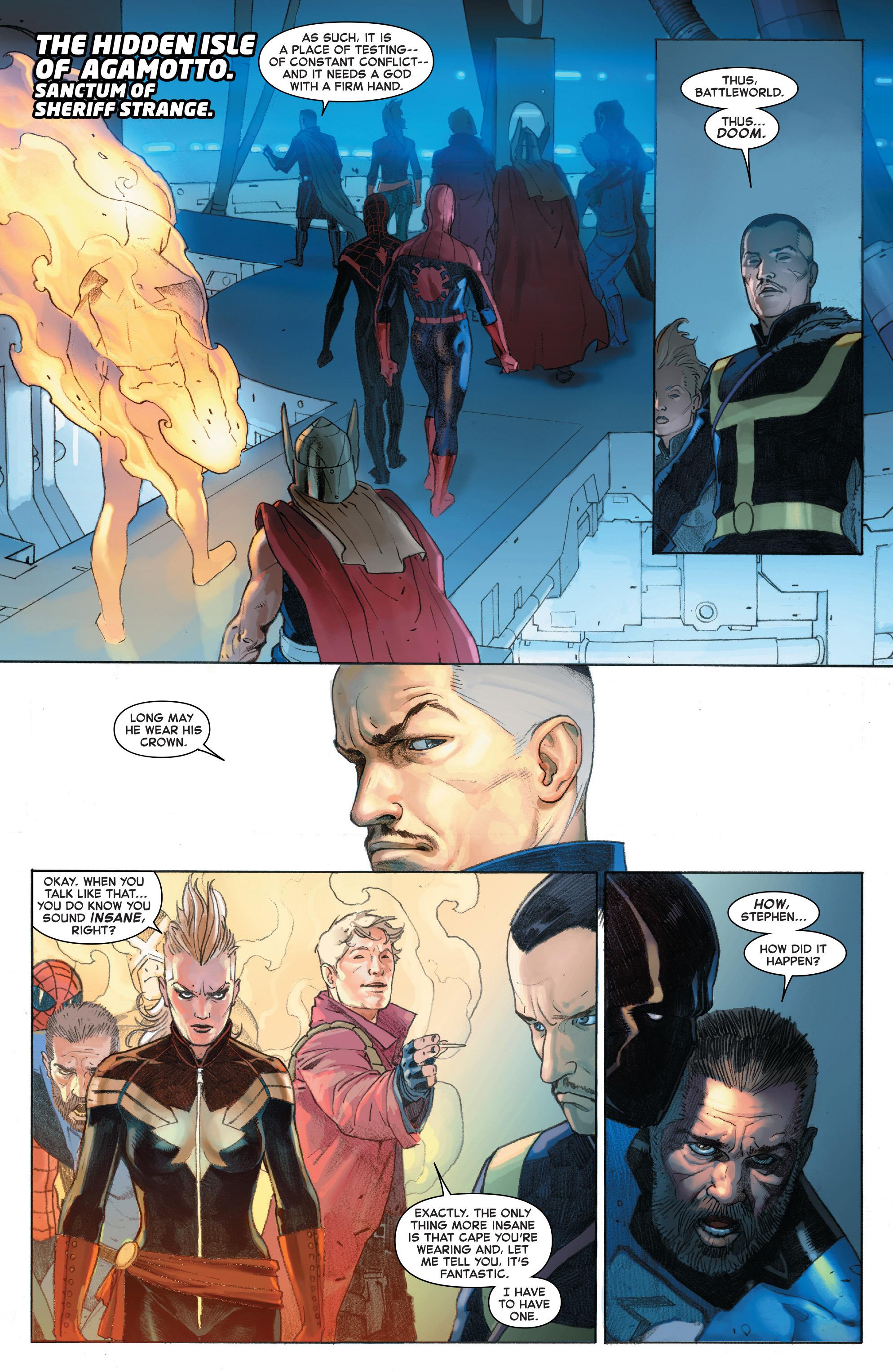 Read online Secret Wars comic -  Issue #4 - 15
