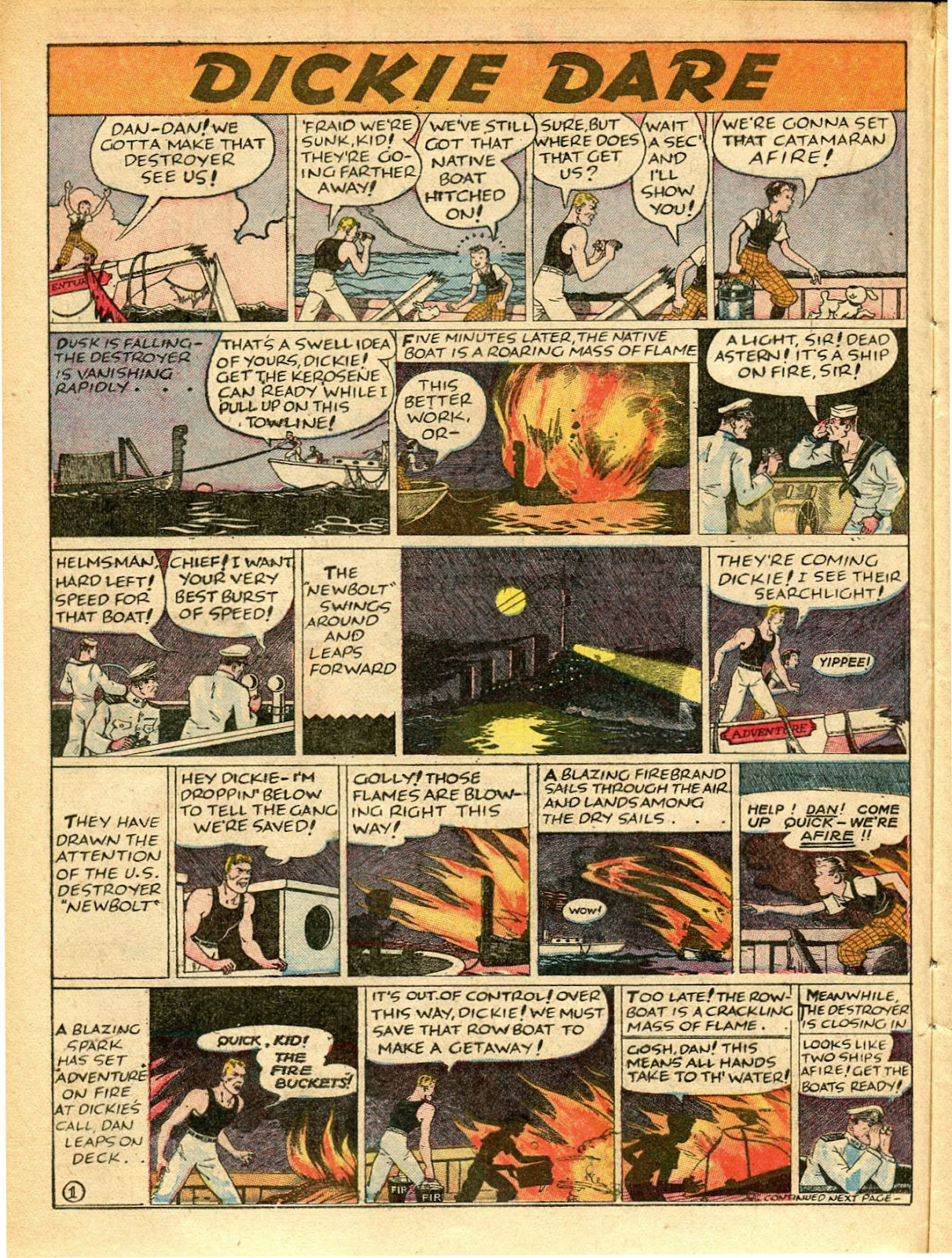 Read online Famous Funnies comic -  Issue #42 - 25