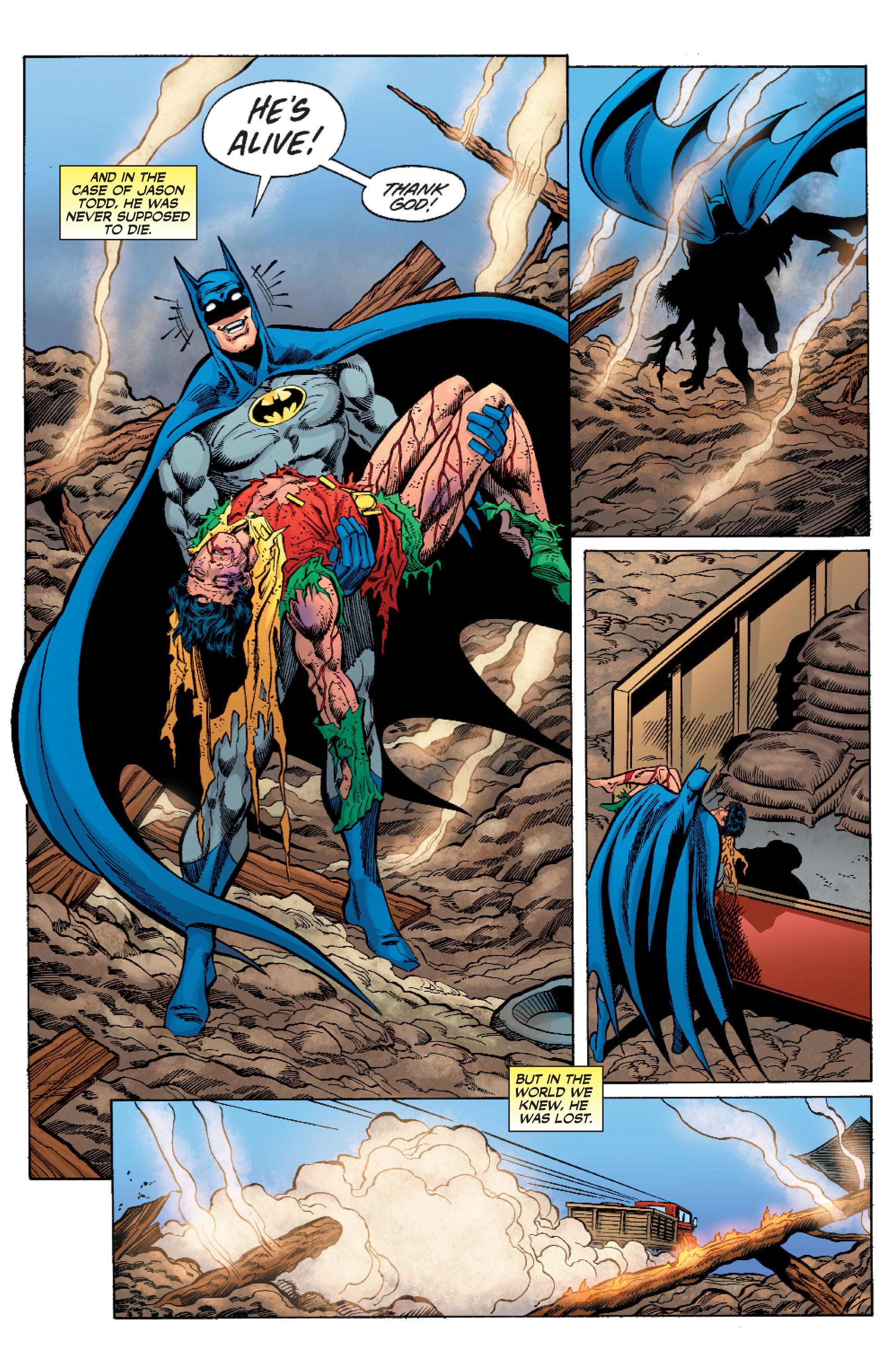 Read online Batman: Under The Red Hood comic -  Issue # Full - 326