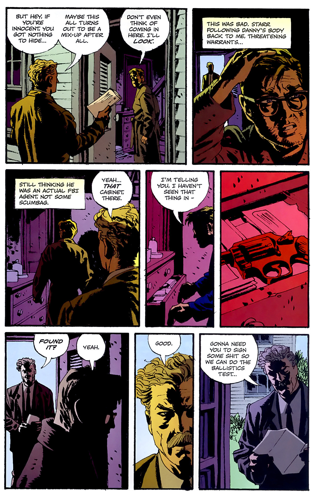 Read online Criminal (2008) comic -  Issue #6 - 17