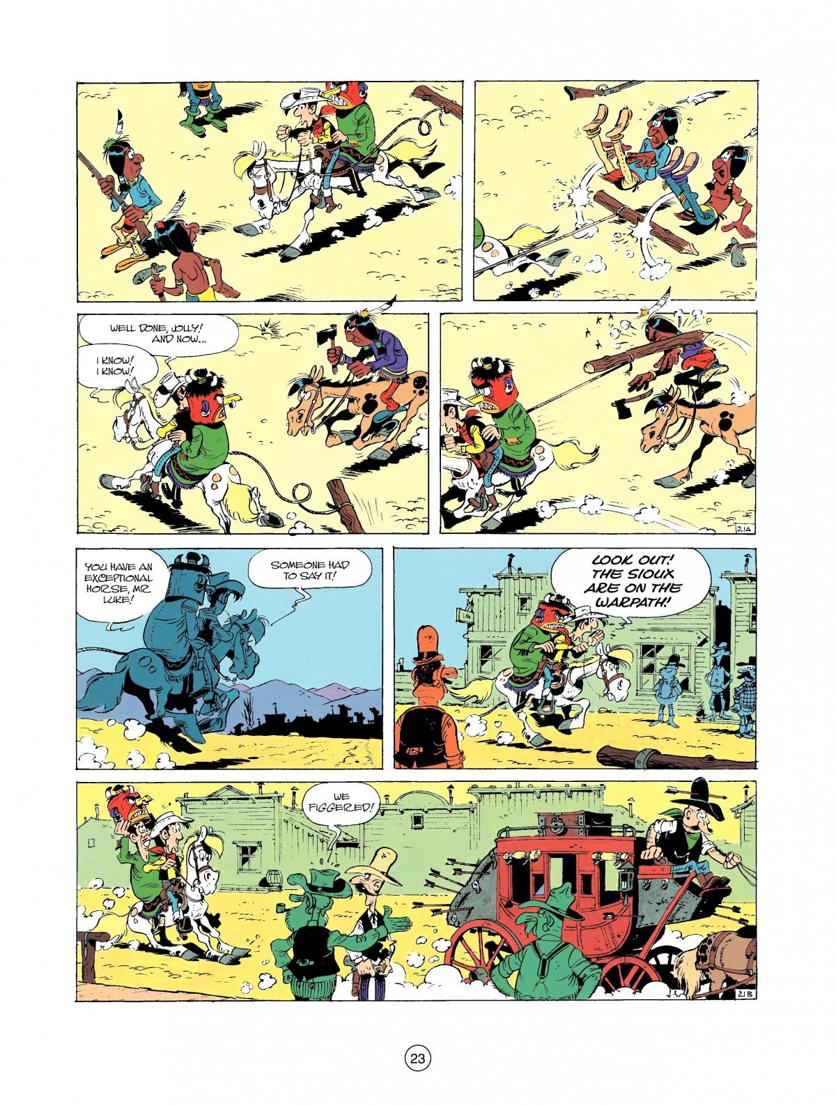 Read online A Lucky Luke Adventure comic -  Issue #37 - 23