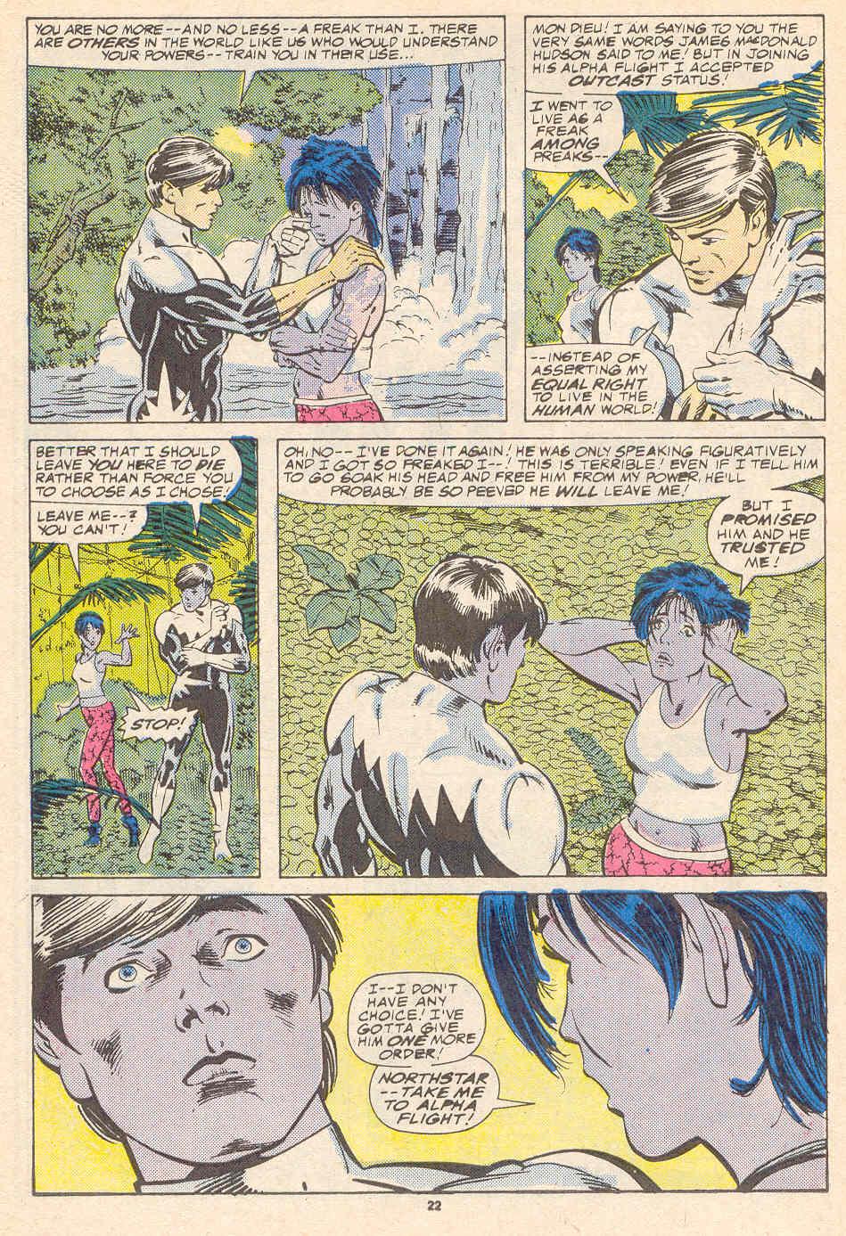 Read online Alpha Flight (1983) comic -  Issue #41 - 23