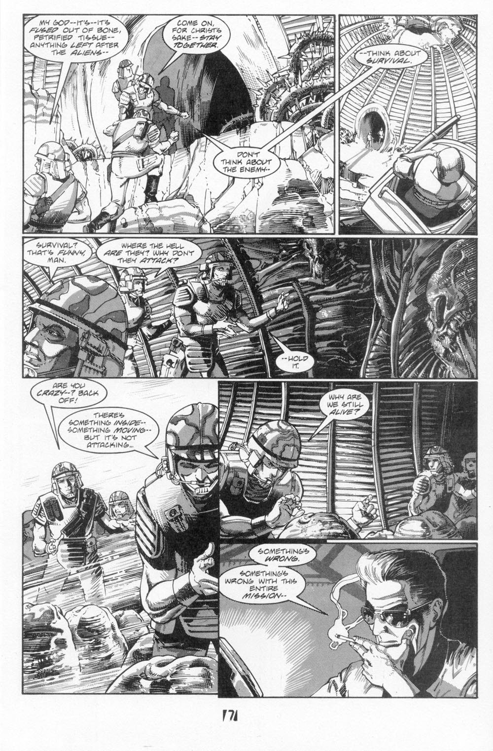 Read online Aliens (1988) comic -  Issue #5 - 9