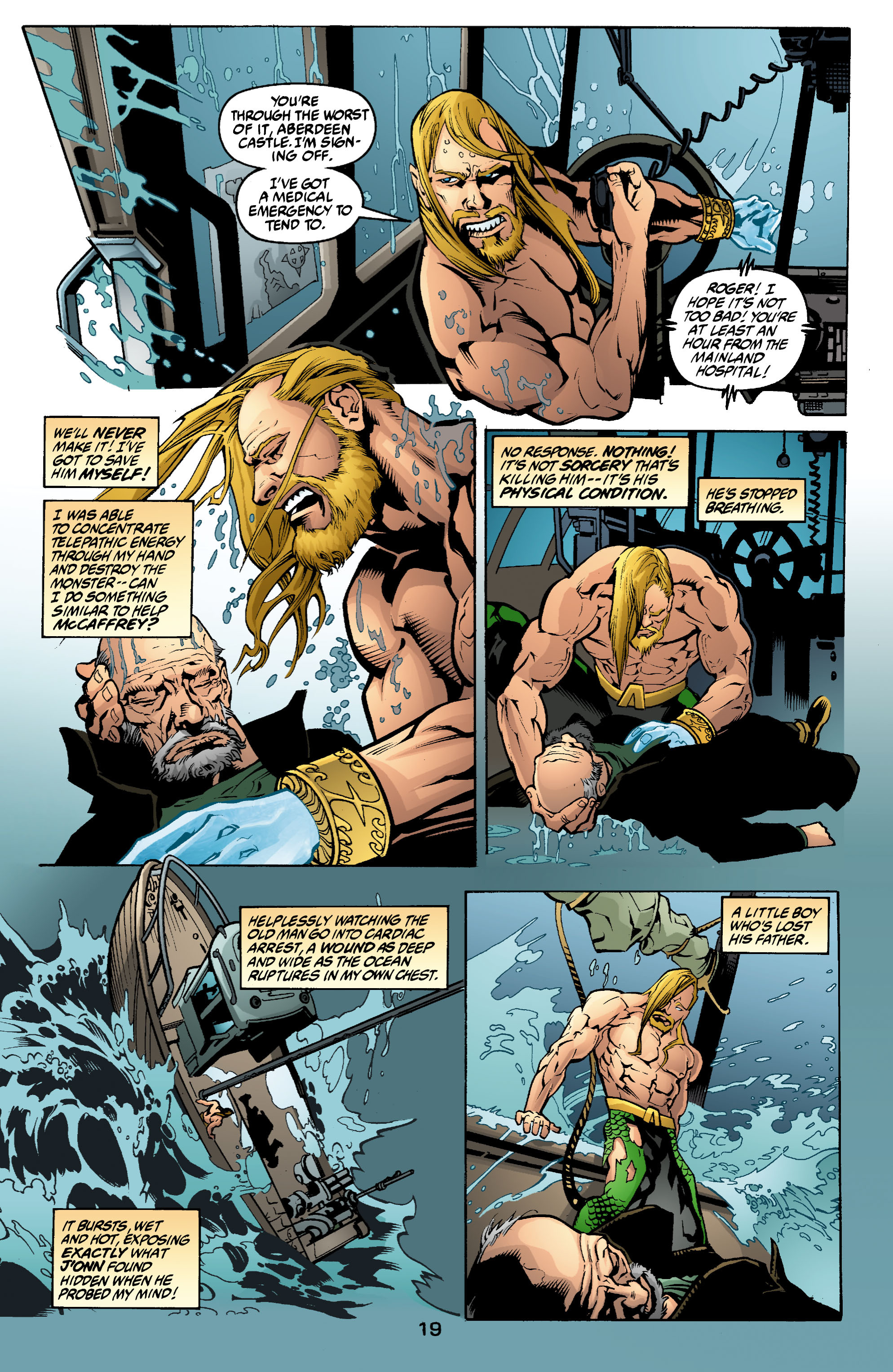 Read online Aquaman (2003) comic -  Issue #2 - 20