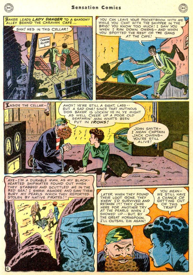 Read online Sensation (Mystery) Comics comic -  Issue #85 - 21