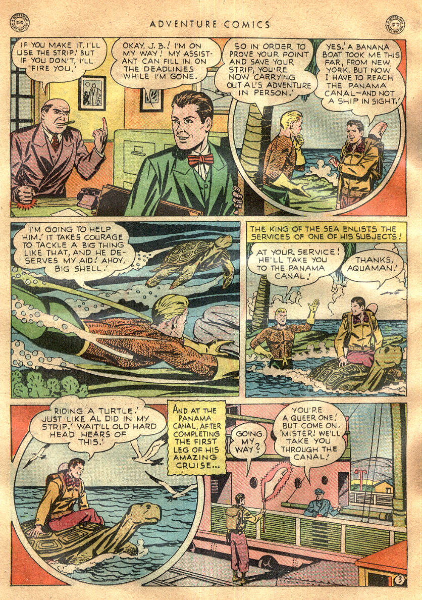 Read online Adventure Comics (1938) comic -  Issue #145 - 37