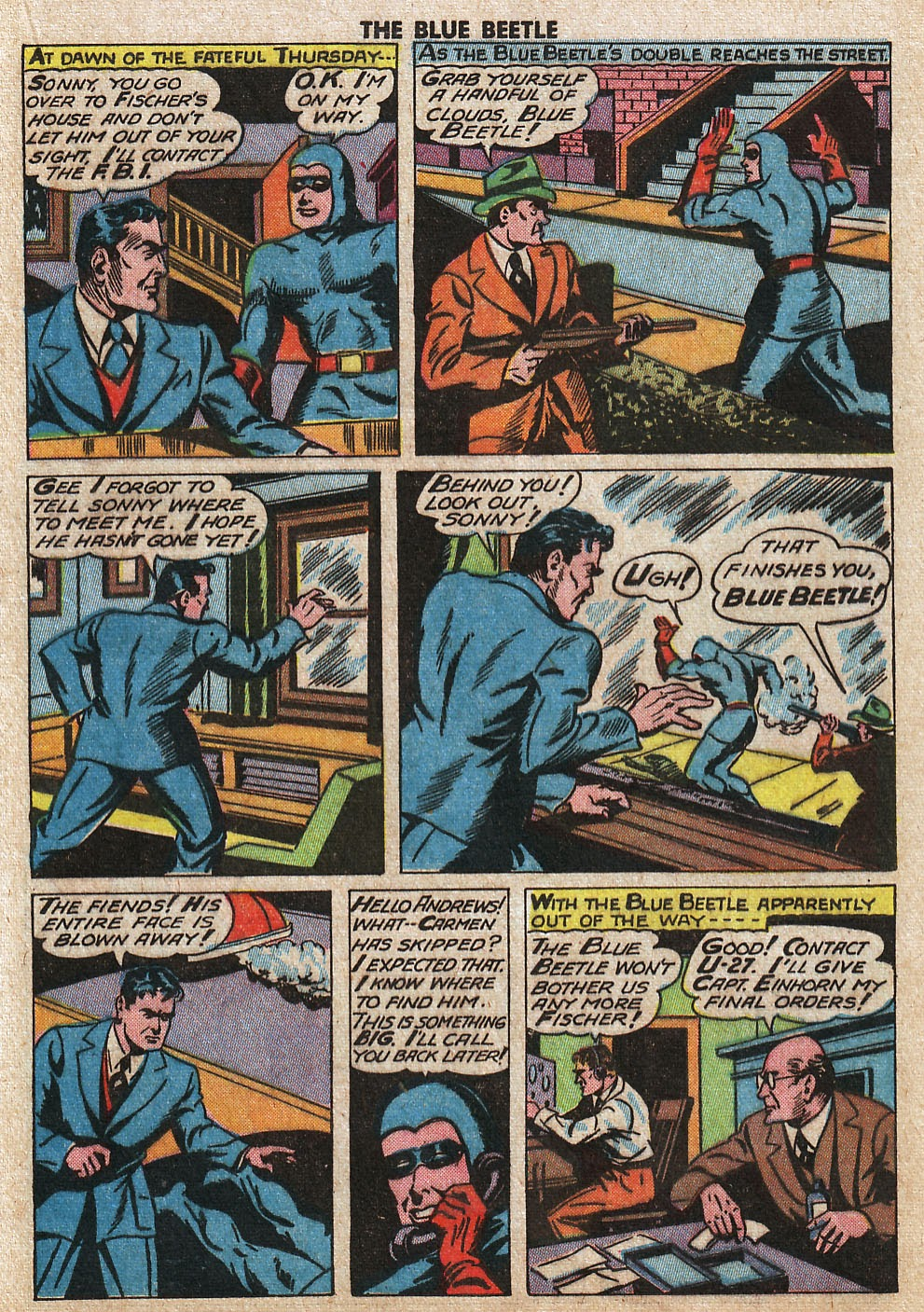 The Blue Beetle issue 33 - Page 23