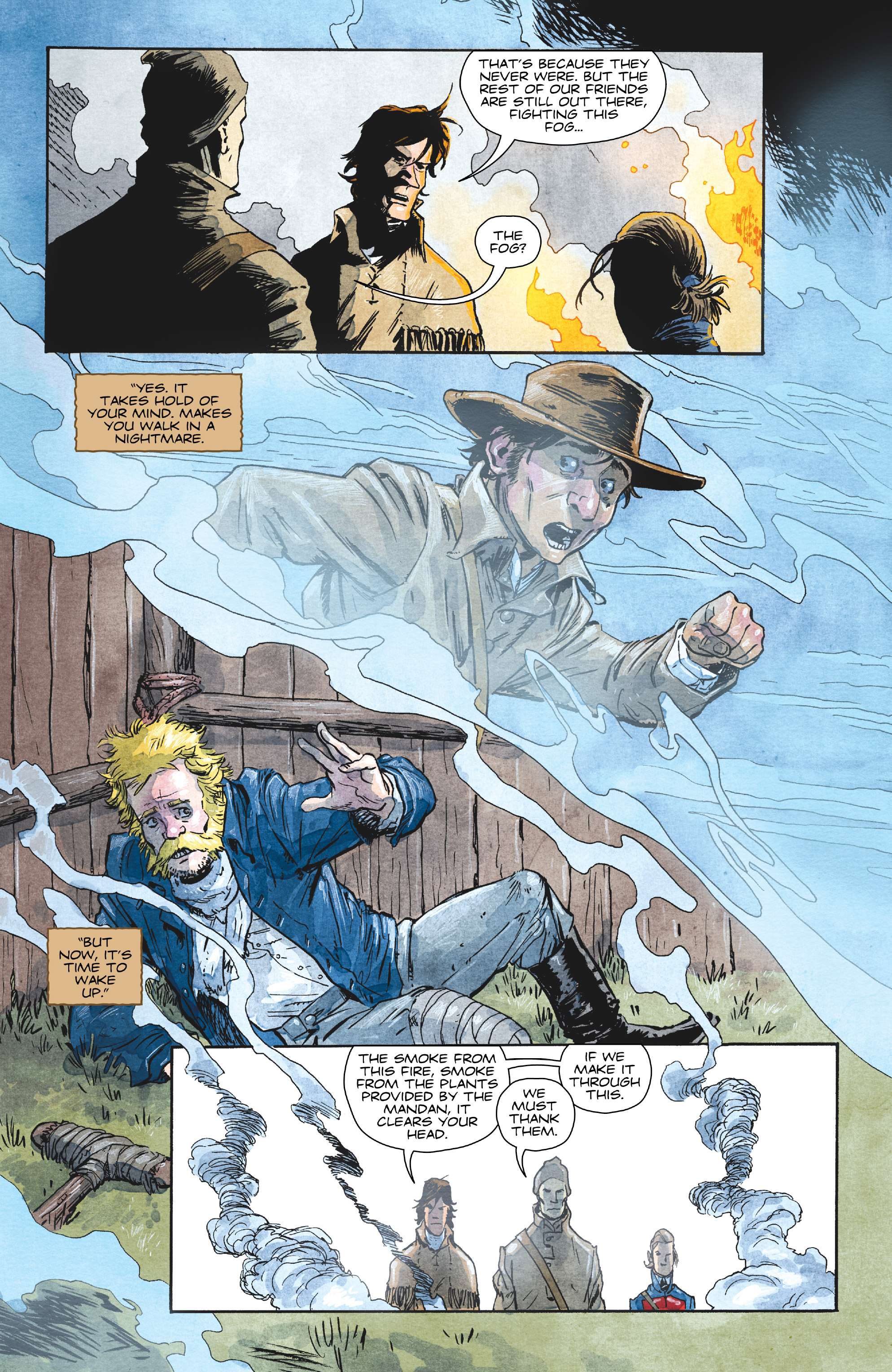 Read online Manifest Destiny comic -  Issue #29 - 11