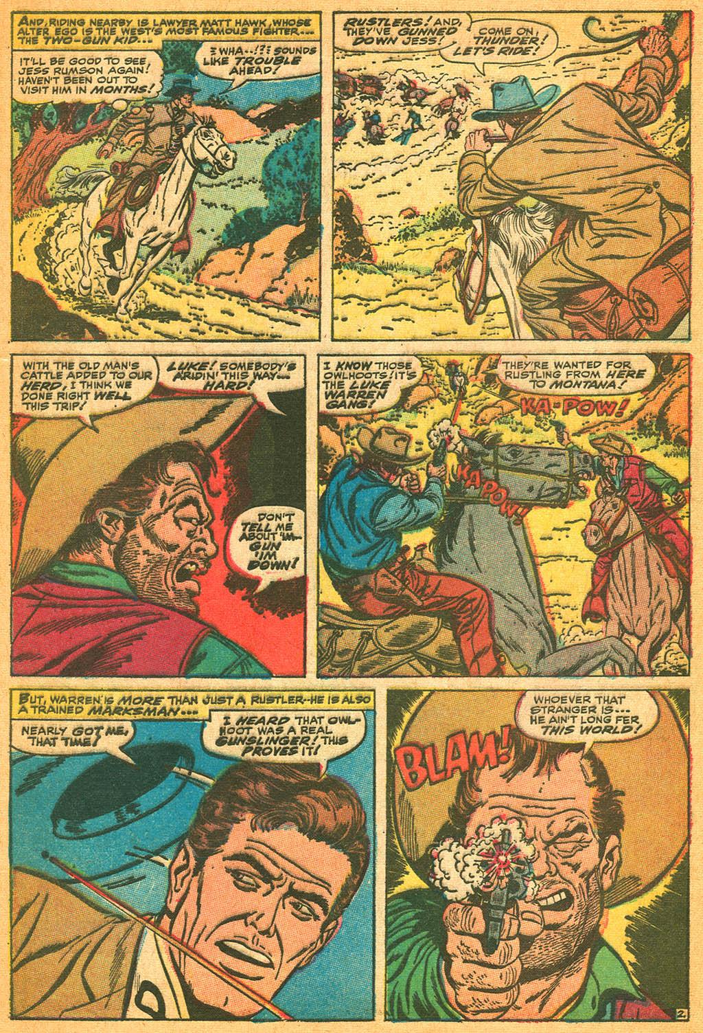 Read online Two-Gun Kid comic -  Issue #87 - 4